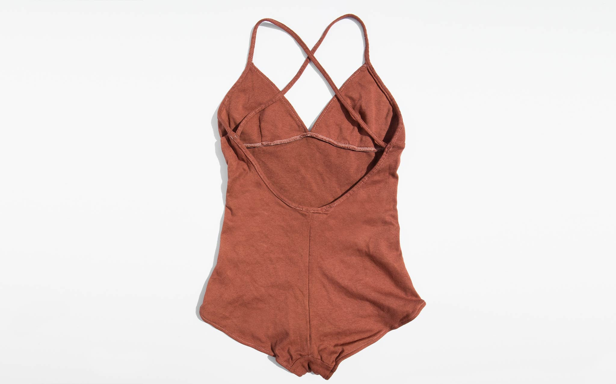 Colorant Terracotta Aiden Bodysuit