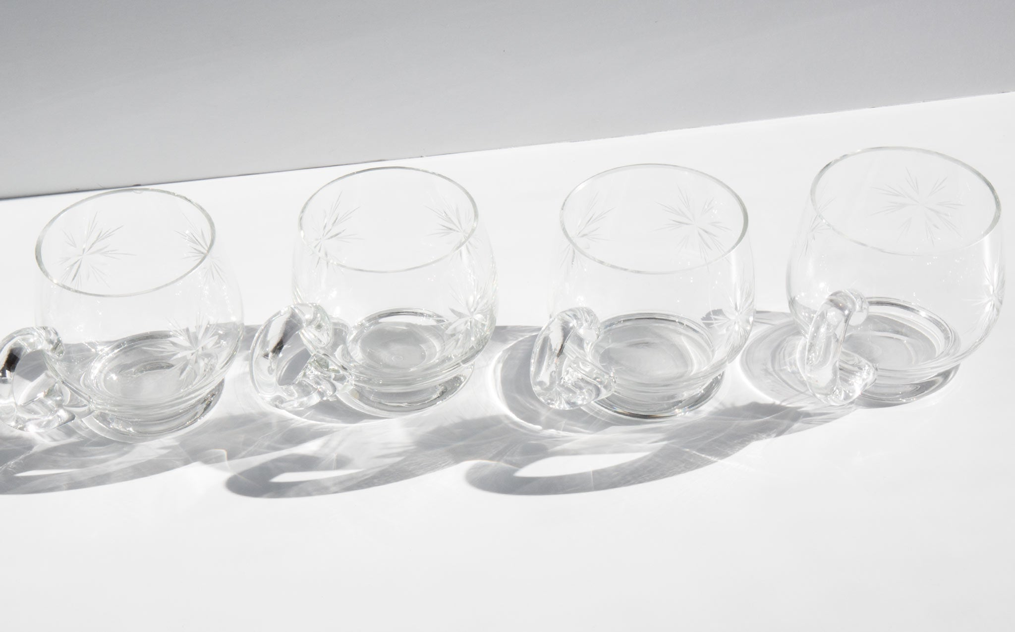 Crystal Punch Glasses