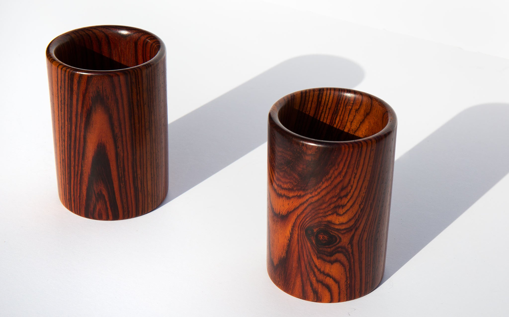 Hand Turned Granadillo Wood Cup