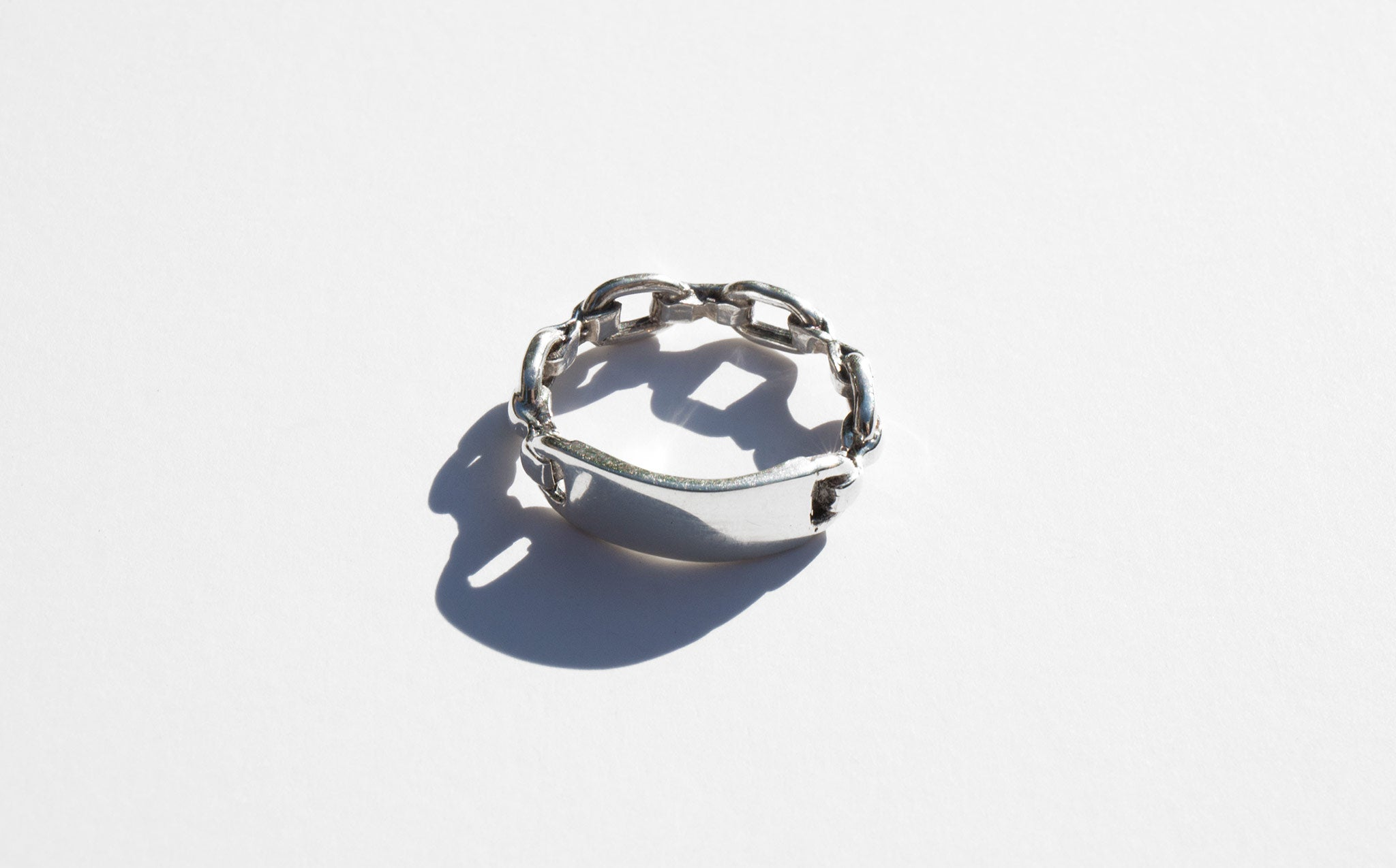 Sterling Silver ID Ring