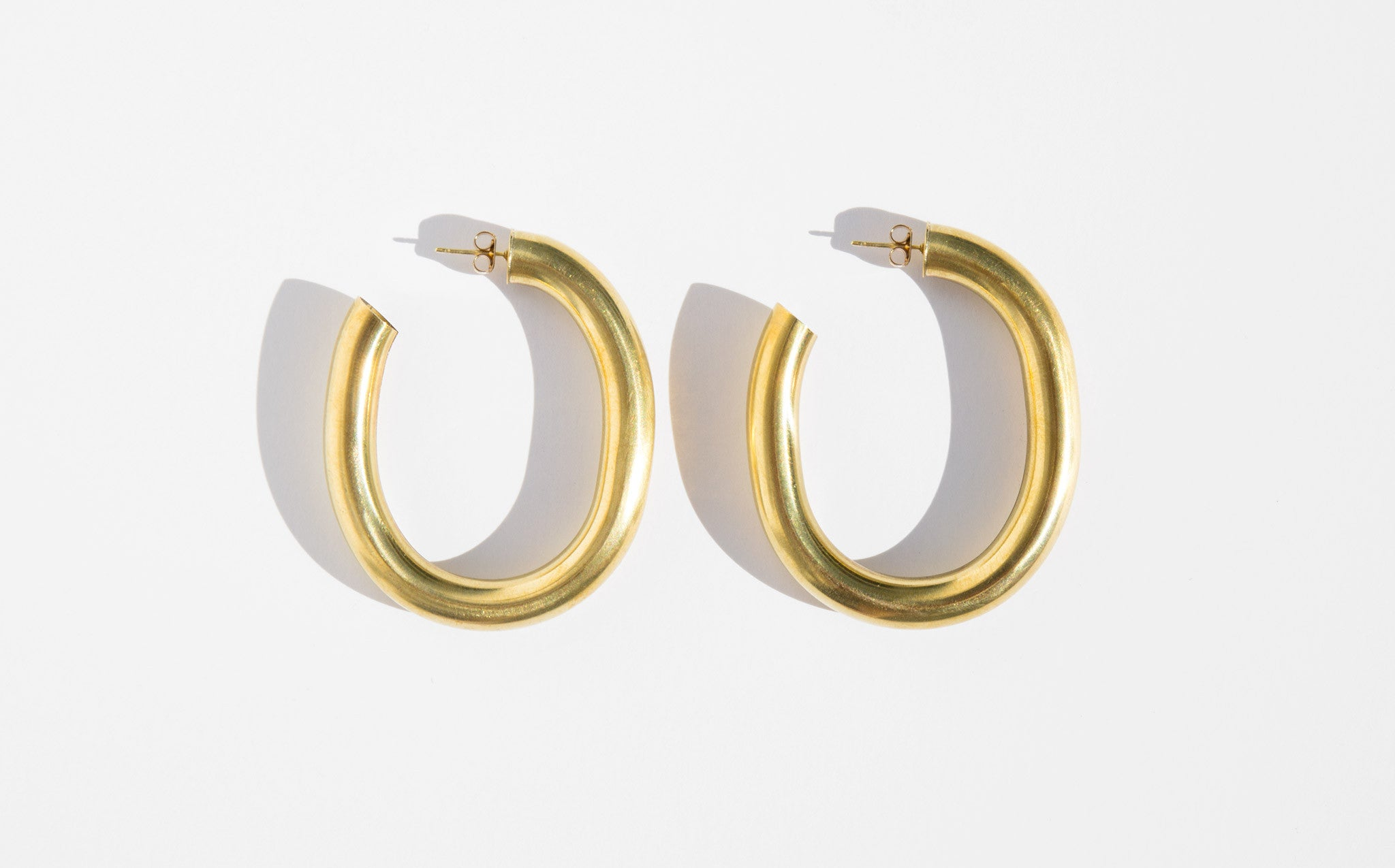 Laura Lombardi Curve Earrings kindred black