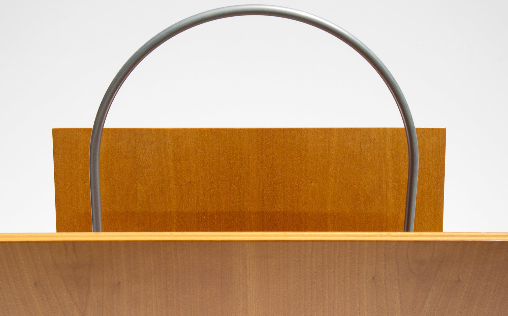 Sculptural Magazine Rack