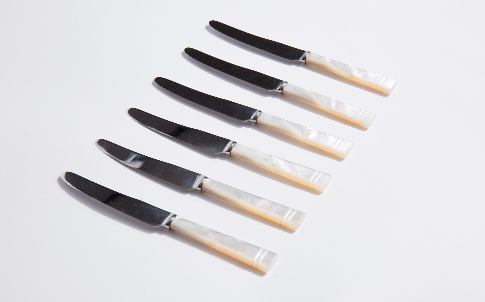 Mother Of Pearl Cheese Knives