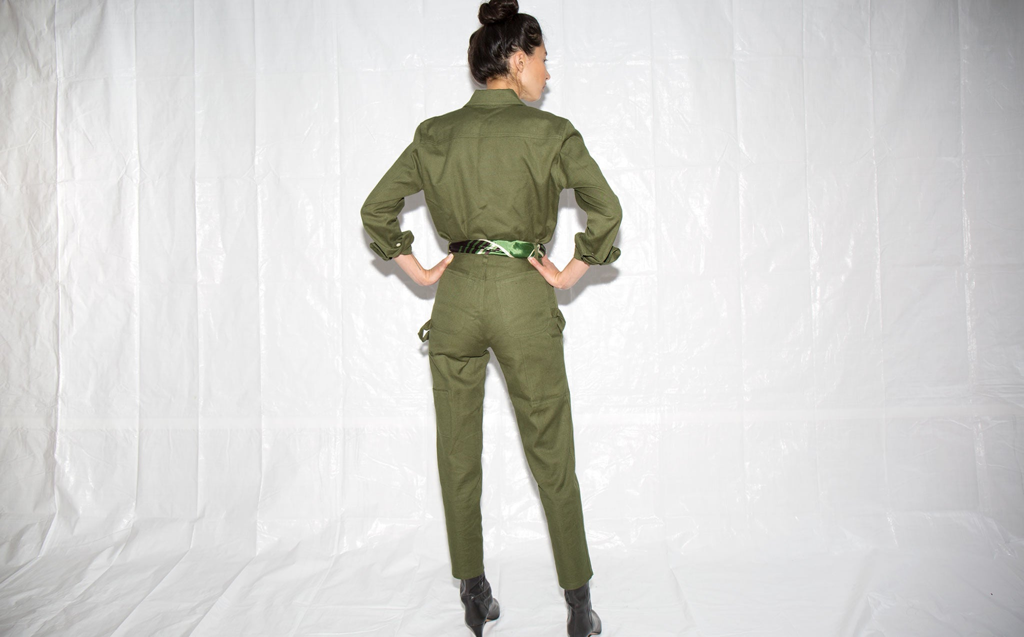 Roberta Mountain Green Paulina Pant