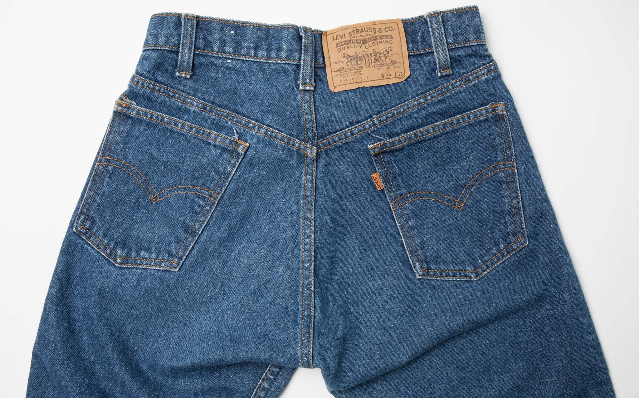 Levi's Orange Tab – Size 26/27 kindred black