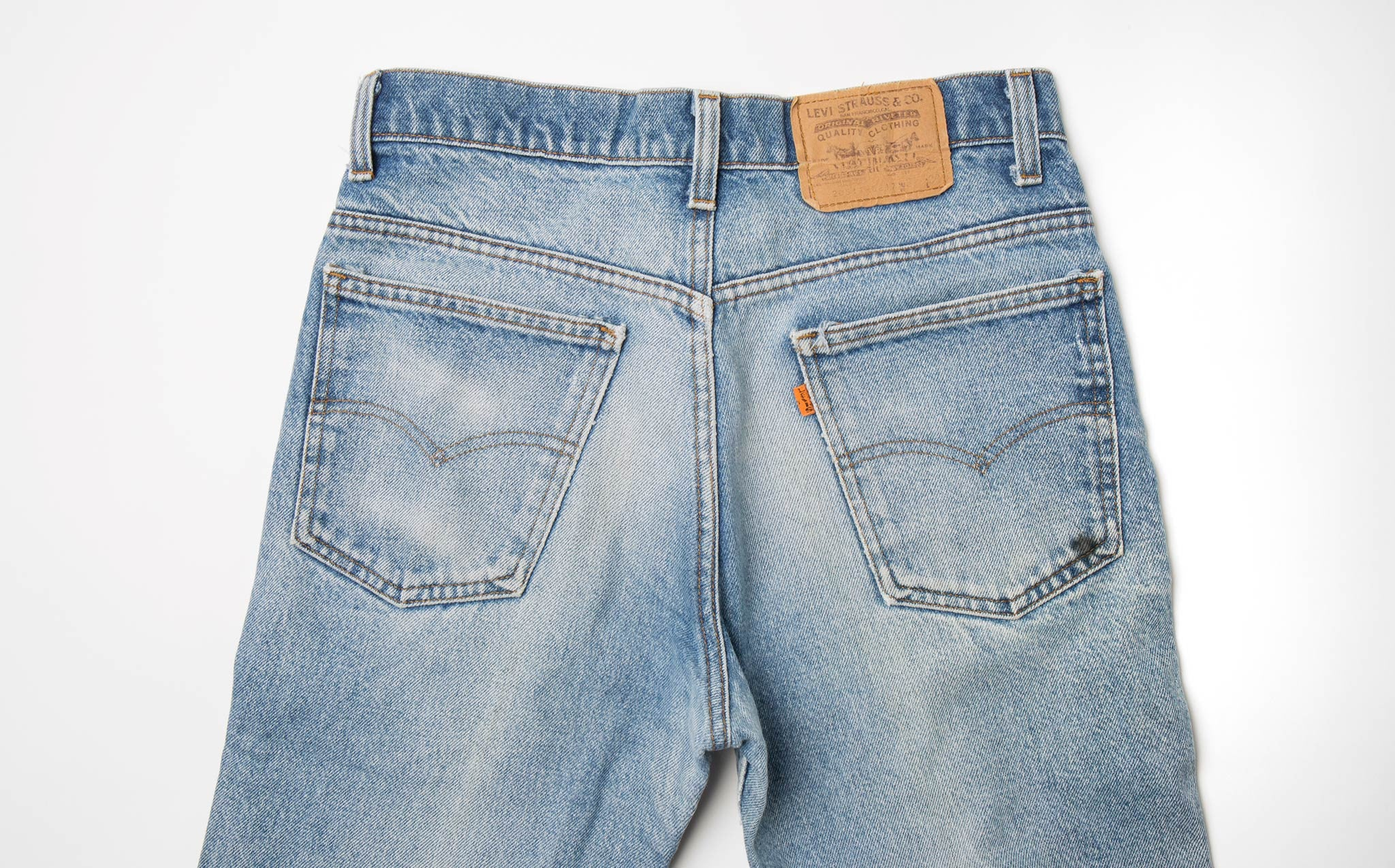 Levi's Orange Tab – Size 29/30 kindred black