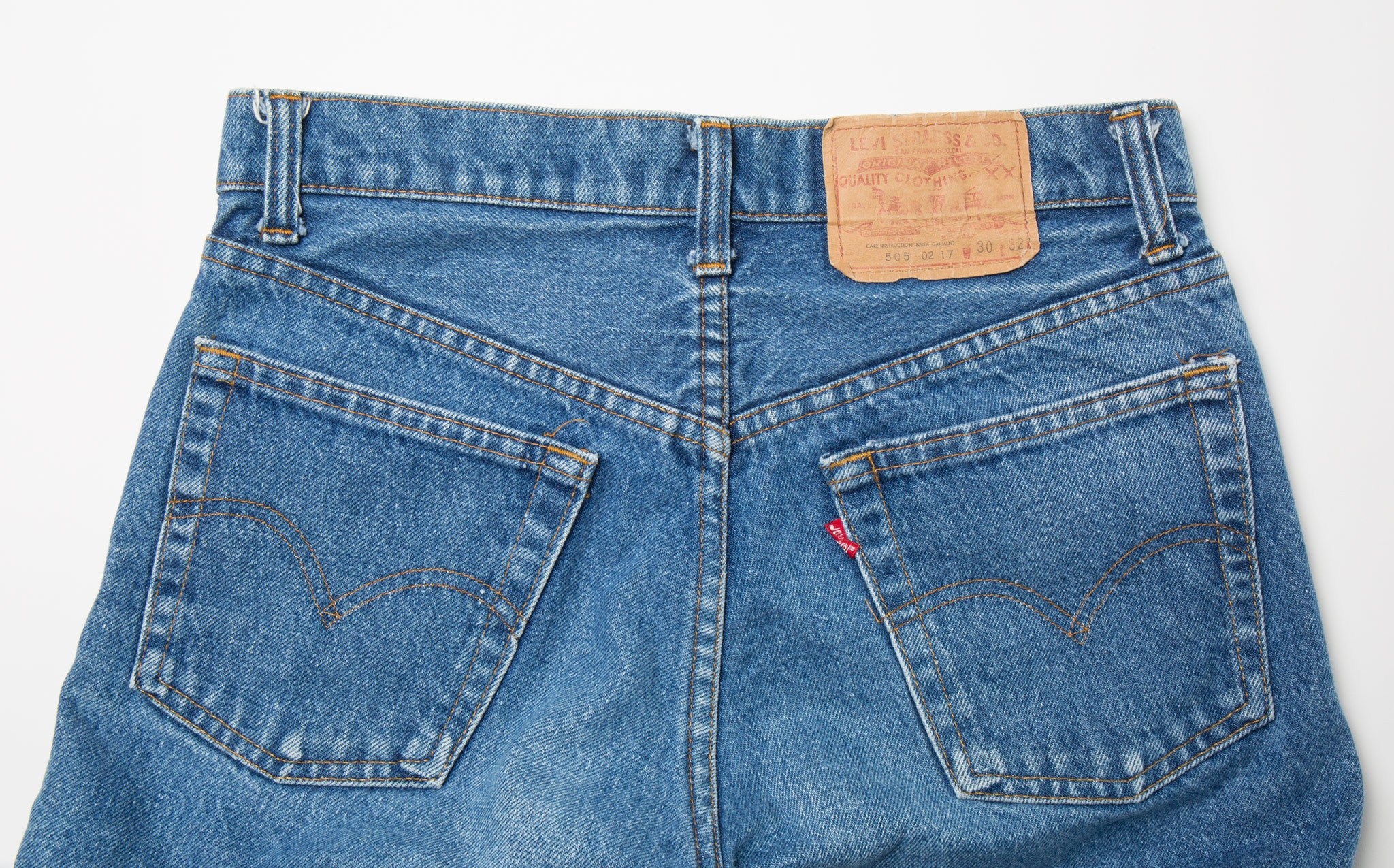 Levi's 505 – Size 27/28 kindred black