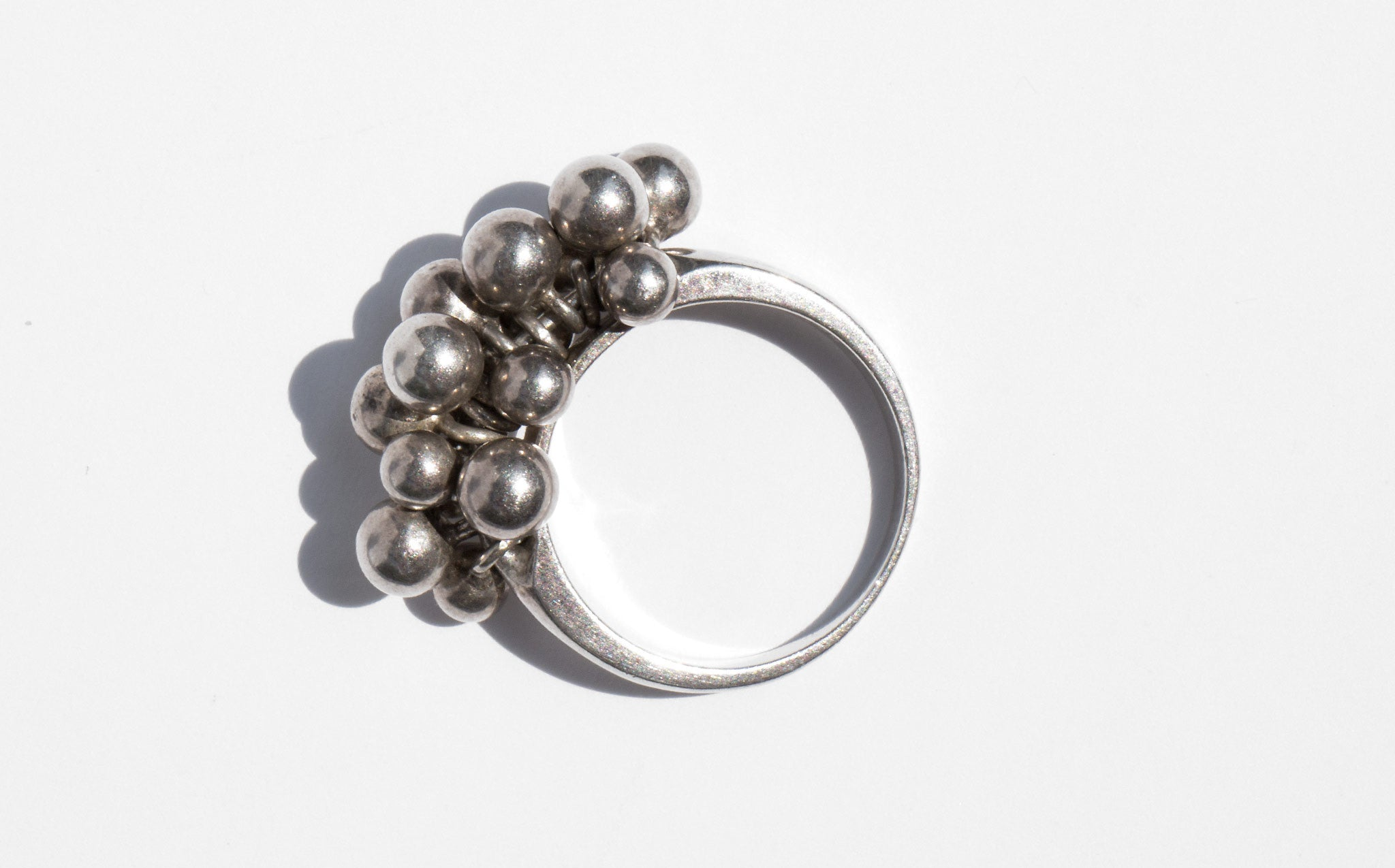 Sterling Silver Orb Ring