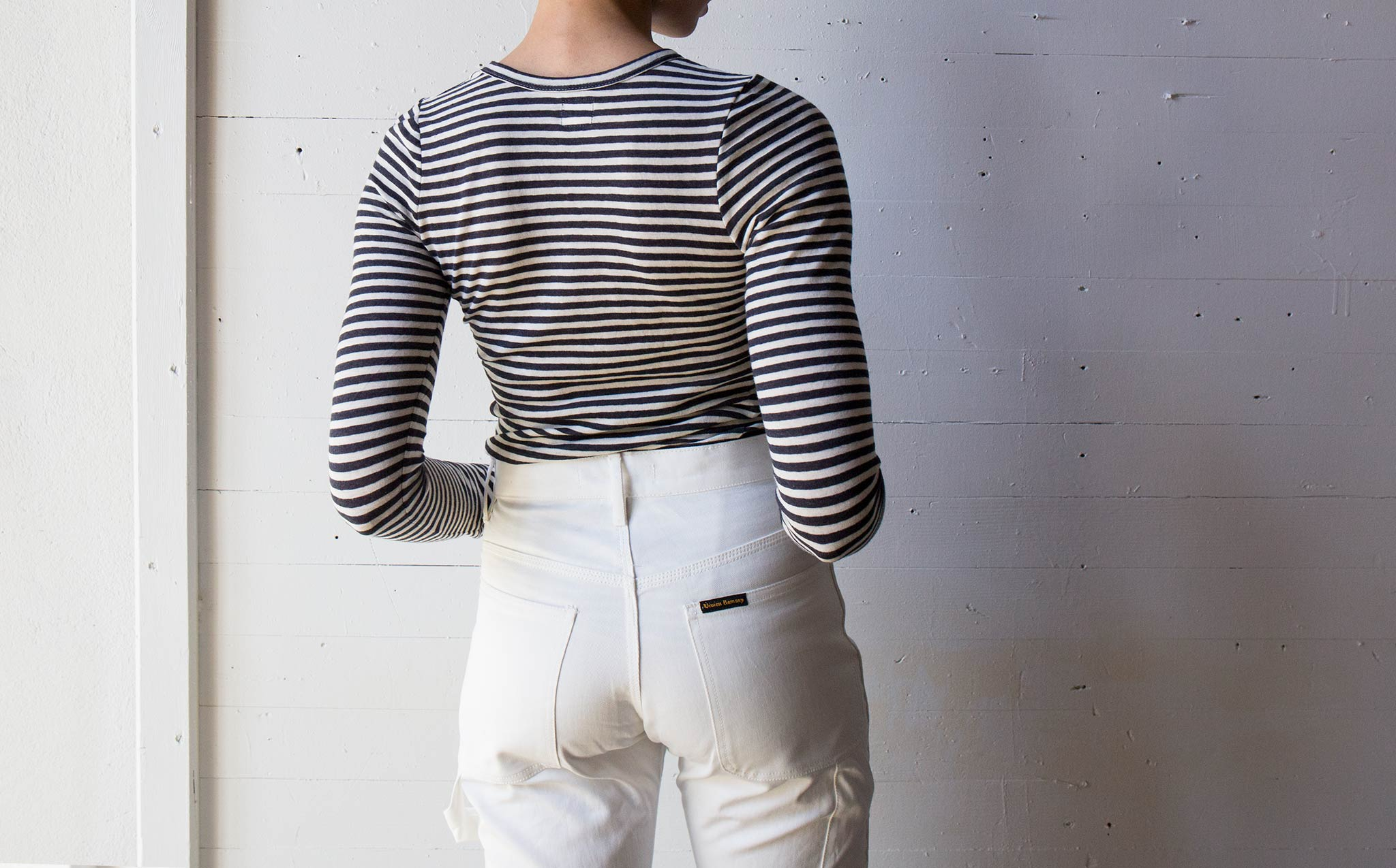 Vivien Ramsay Striped Crew Neck
