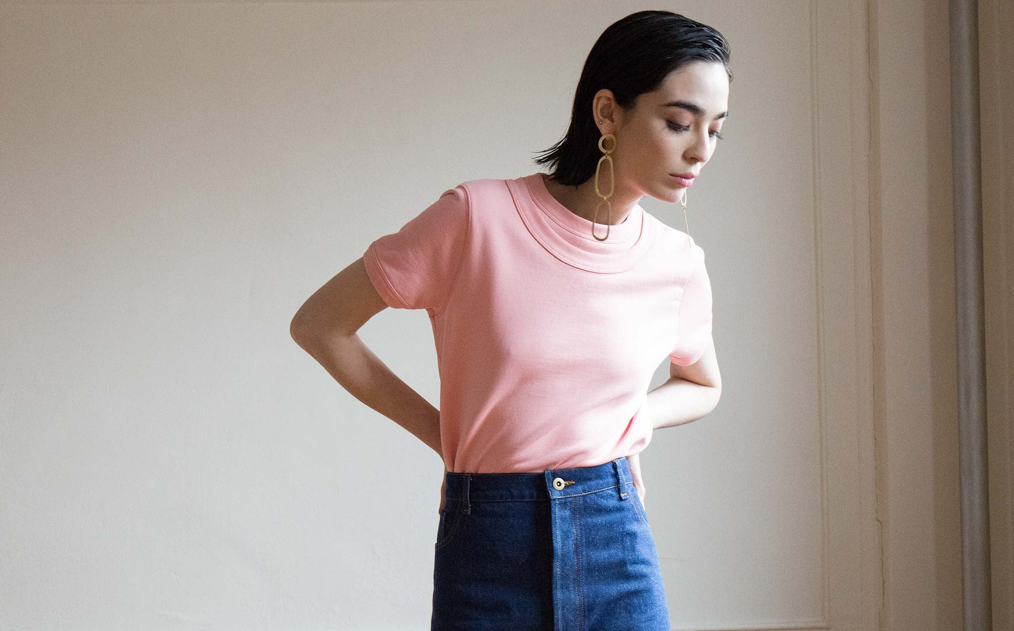 A Détacher Ingrid Blush Pullover