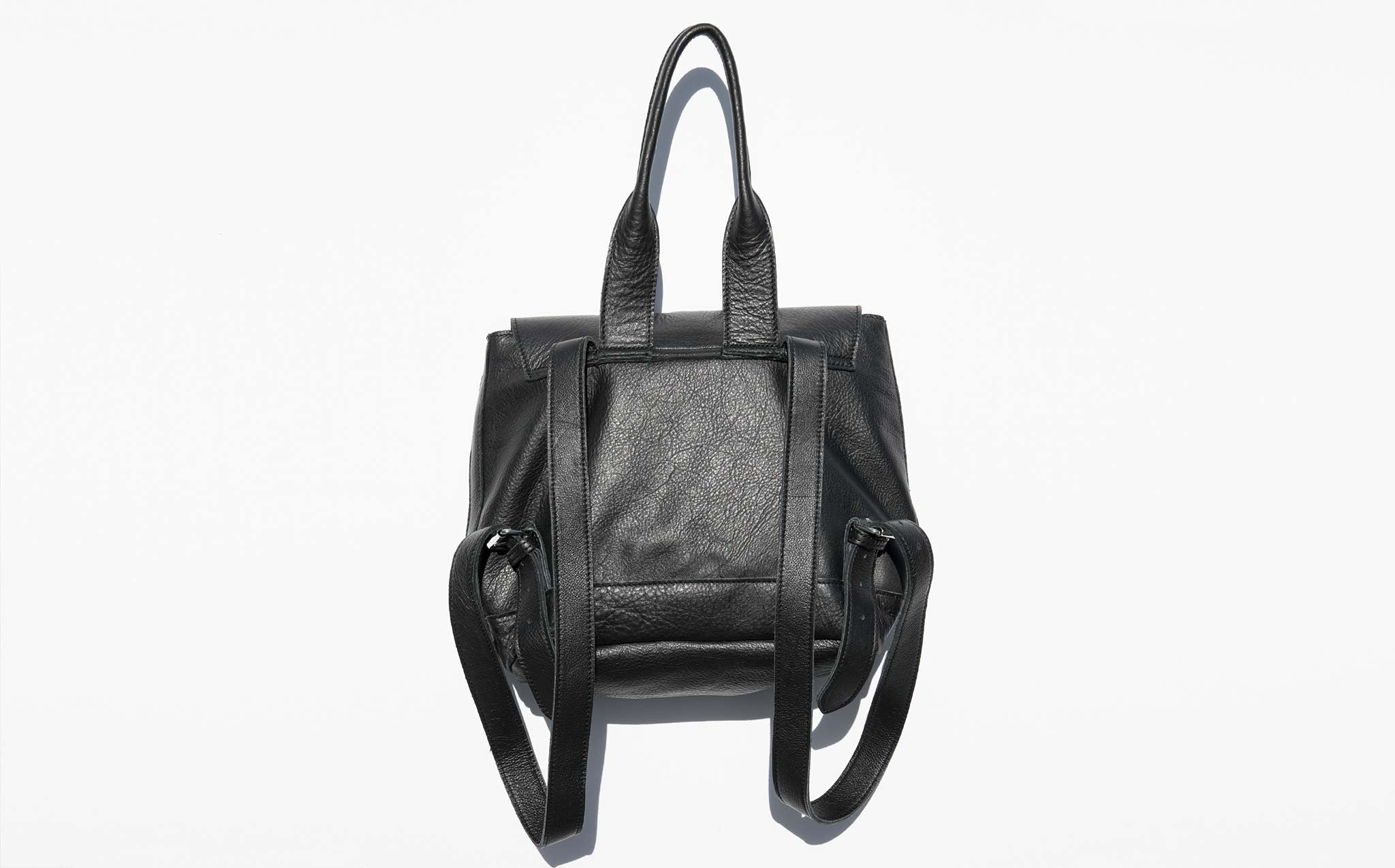 Clyde Black Small Room Backpack