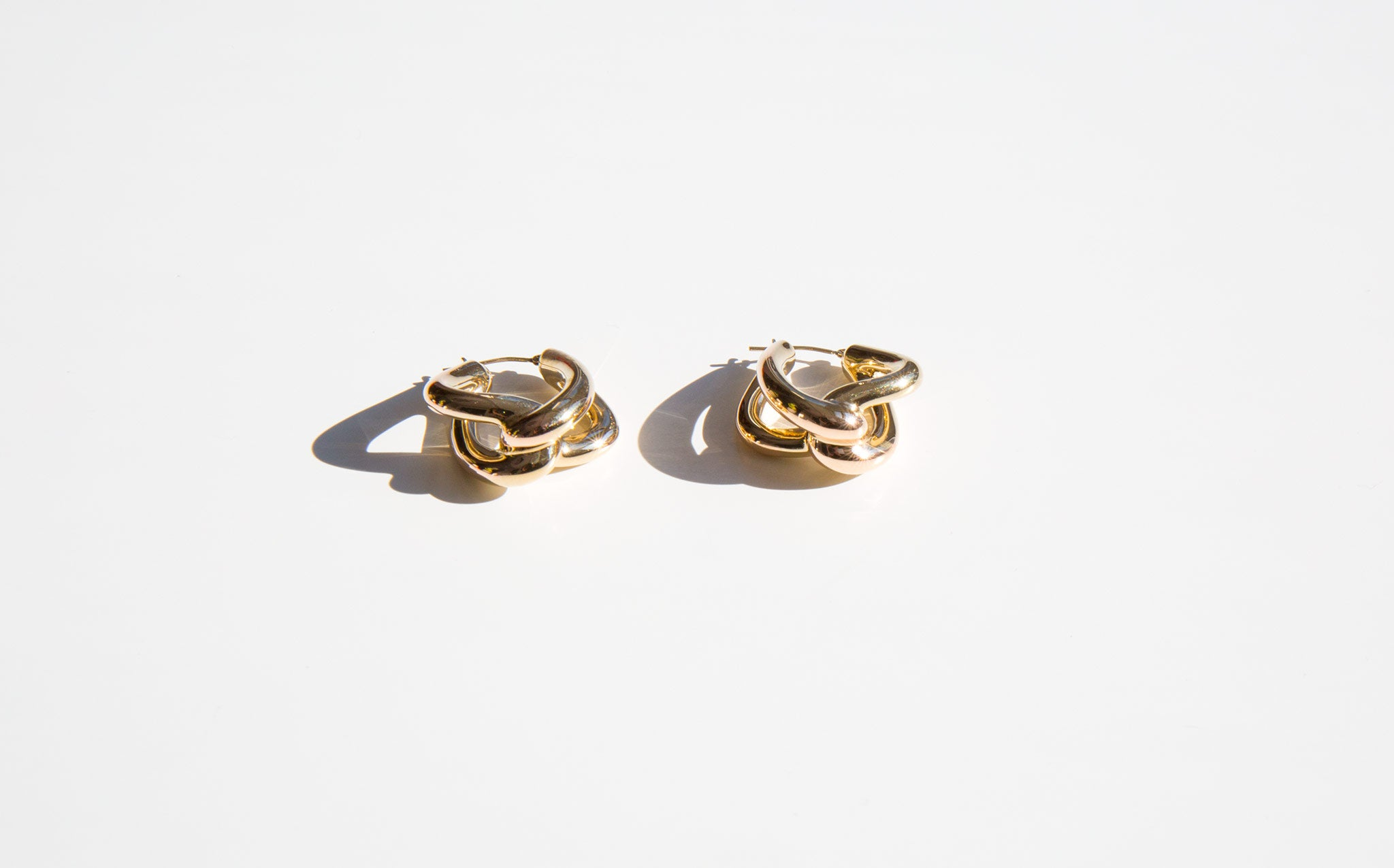 The Golden Knot Earrings