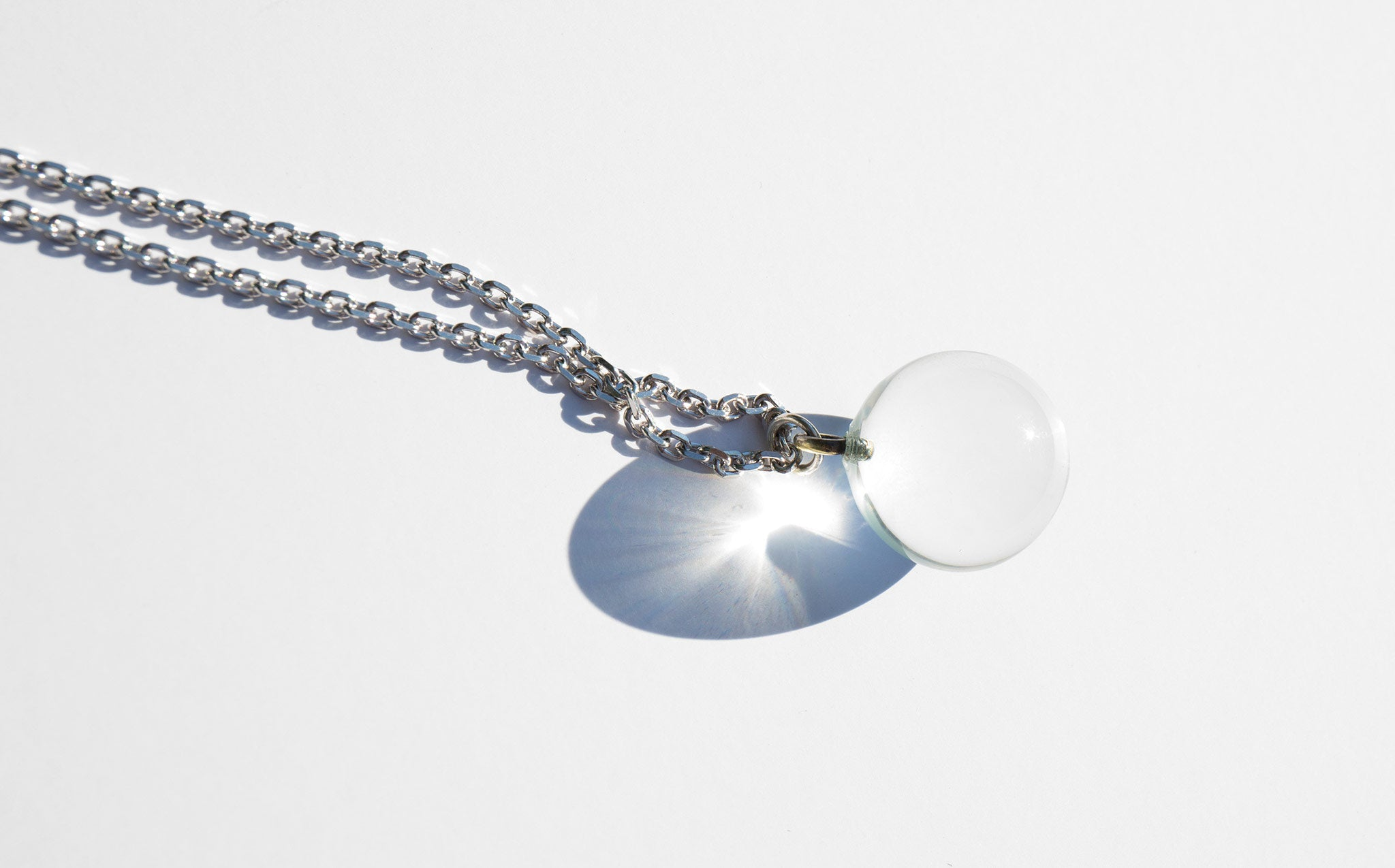 Pools of Light Pendant Necklace