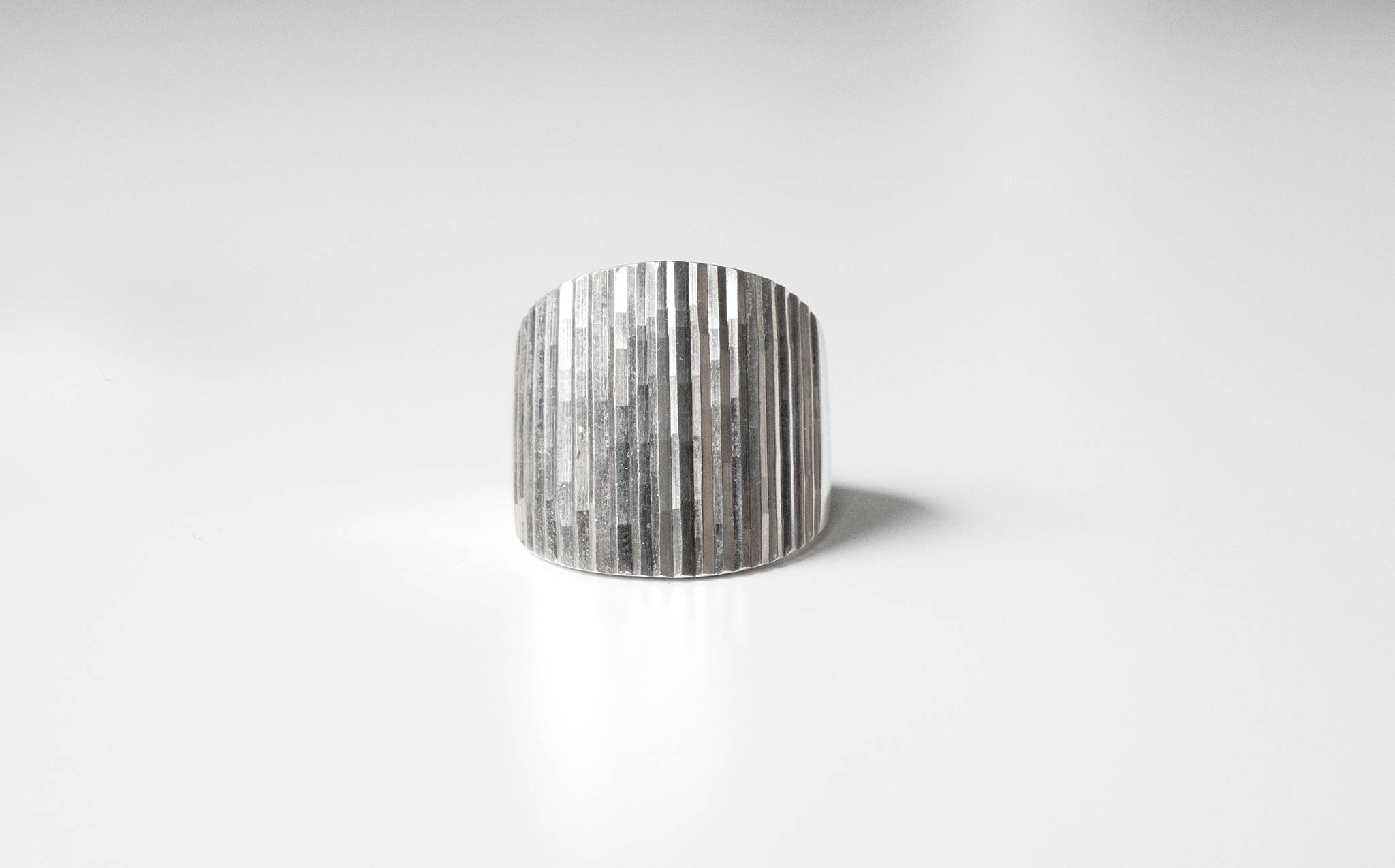Sterling Silver Cascade Ring