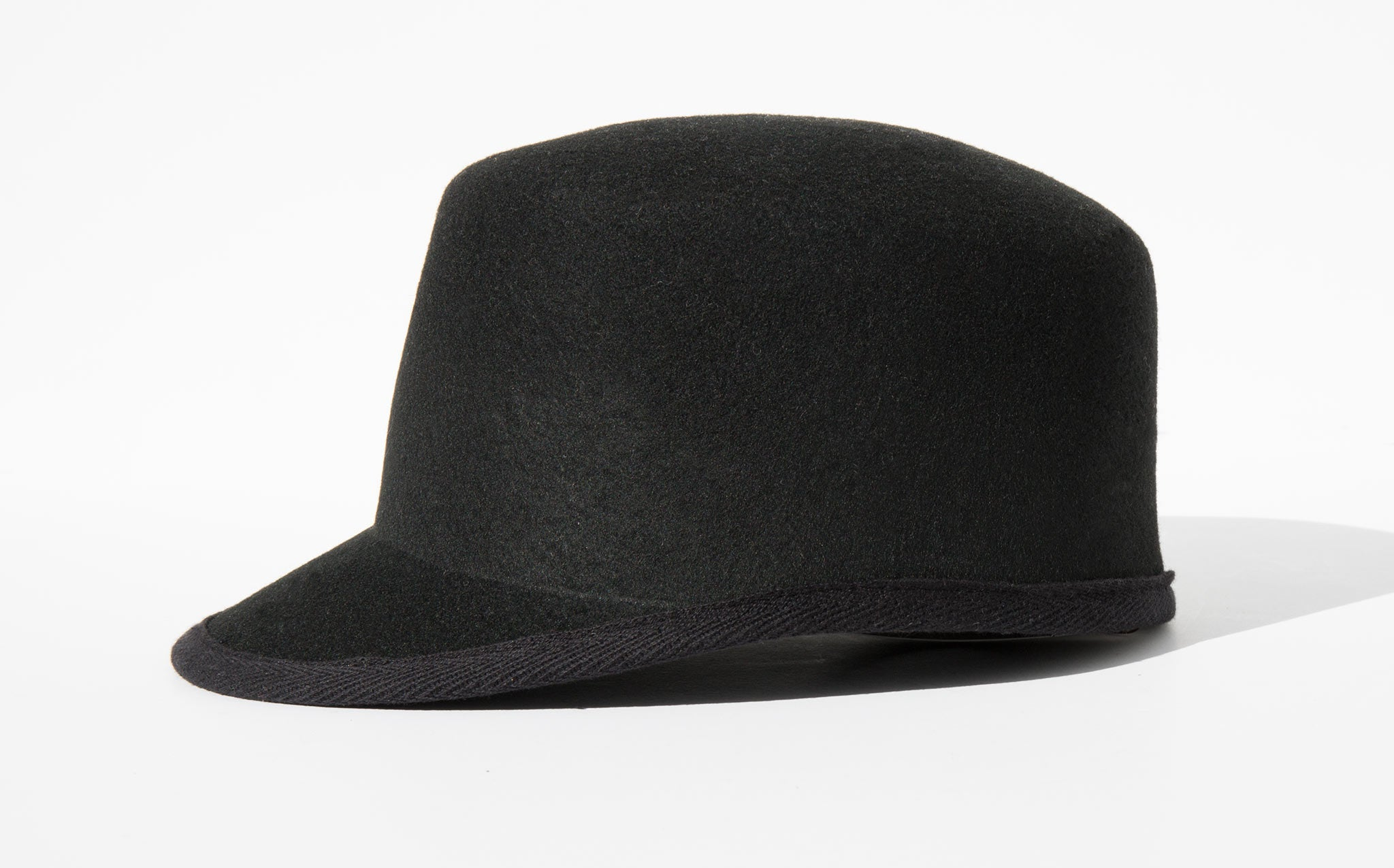 Clyde Black Wool Conductor Hat