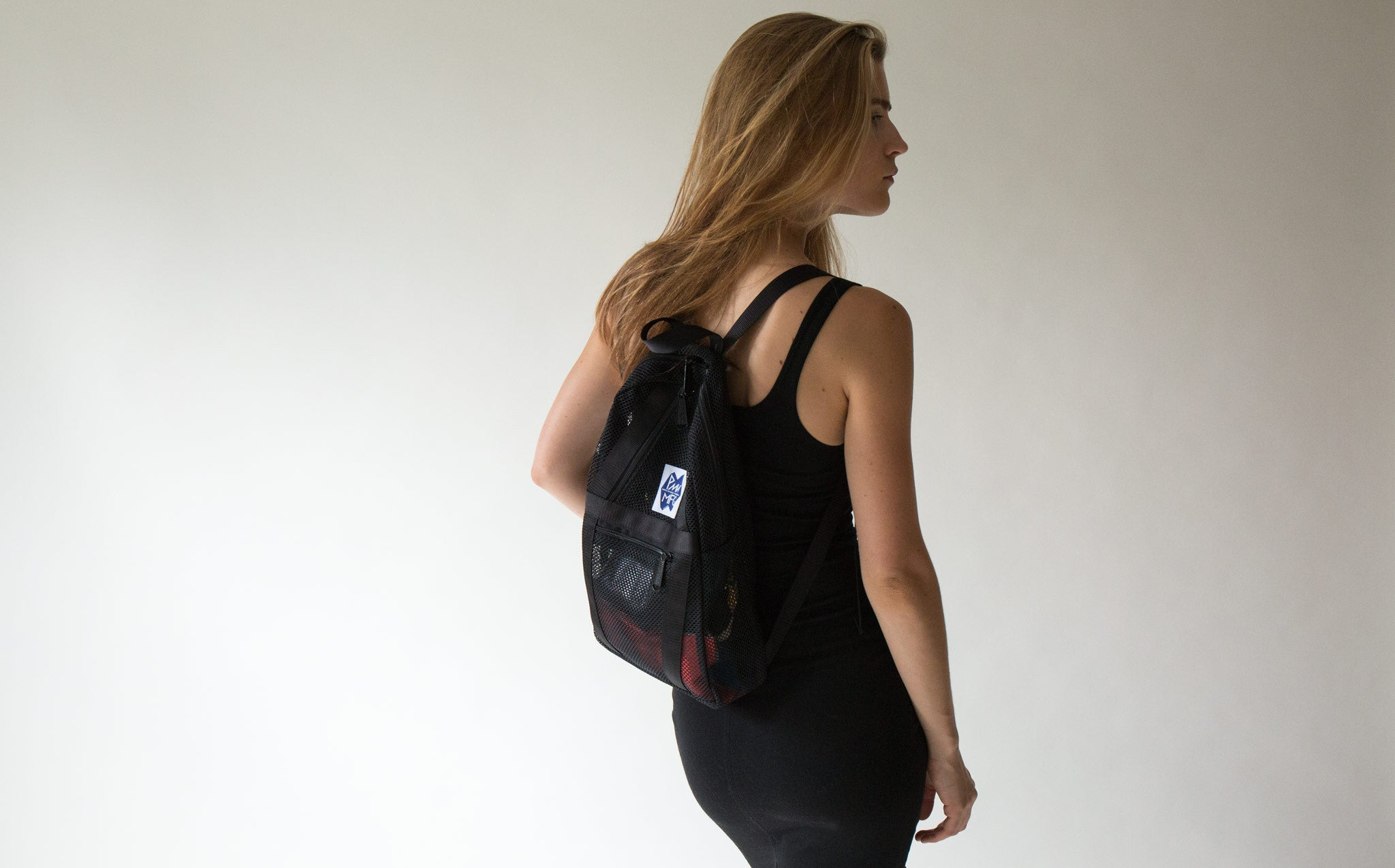 PMW Manufacturing Mesh Tinker Backpack kindred black