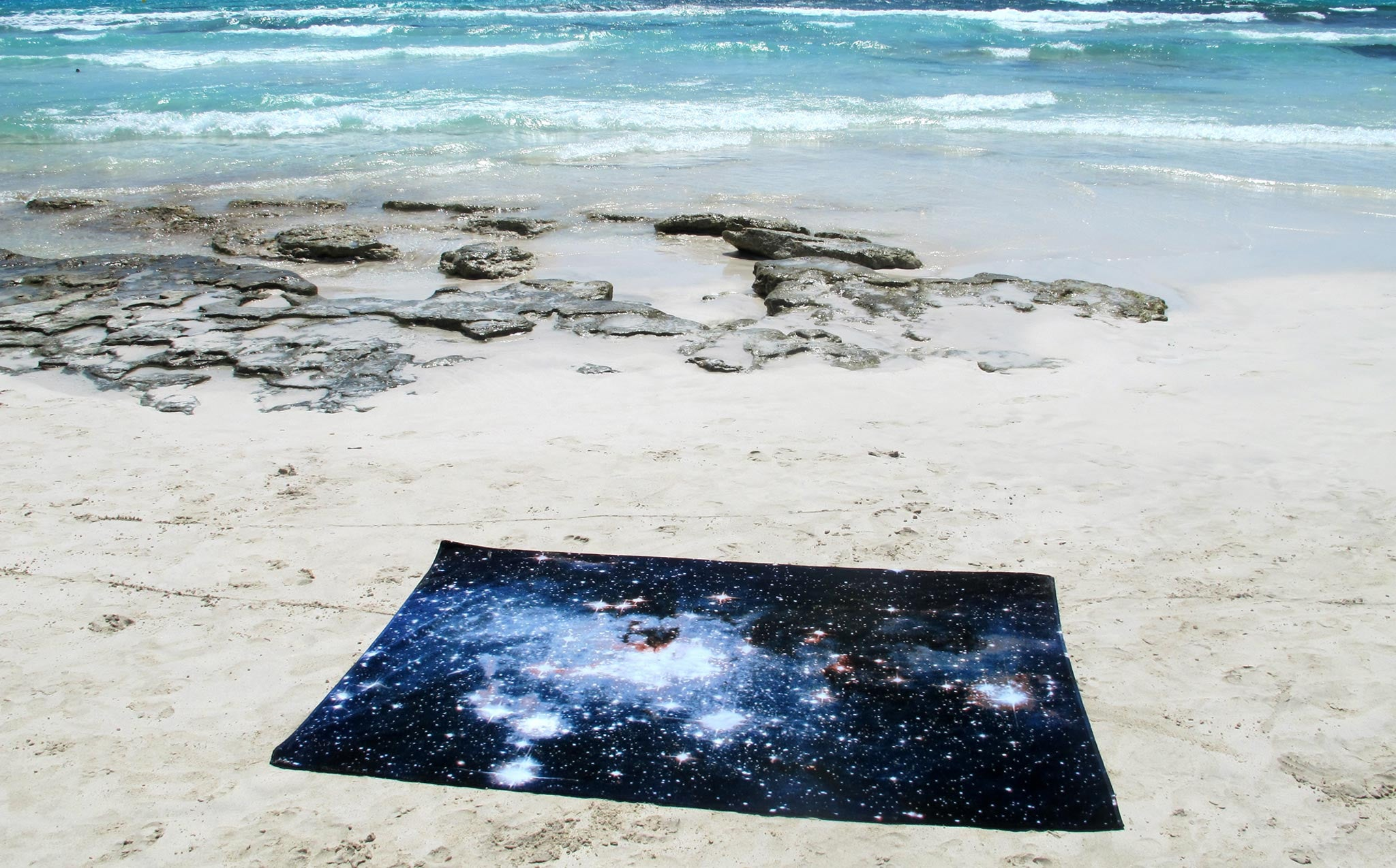Schönstaub Nebula Towel kindred black