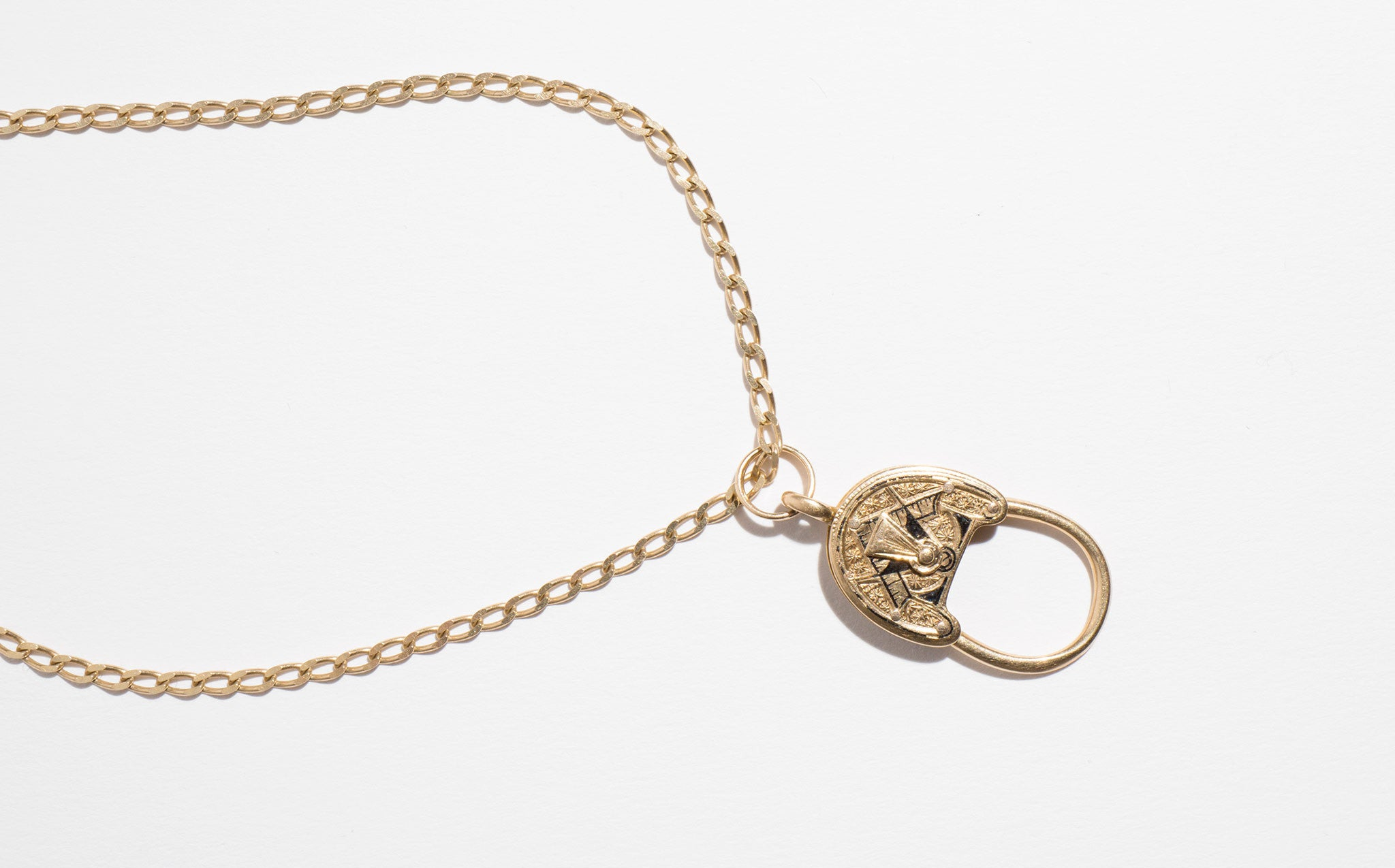 Victorian Lock Necklace