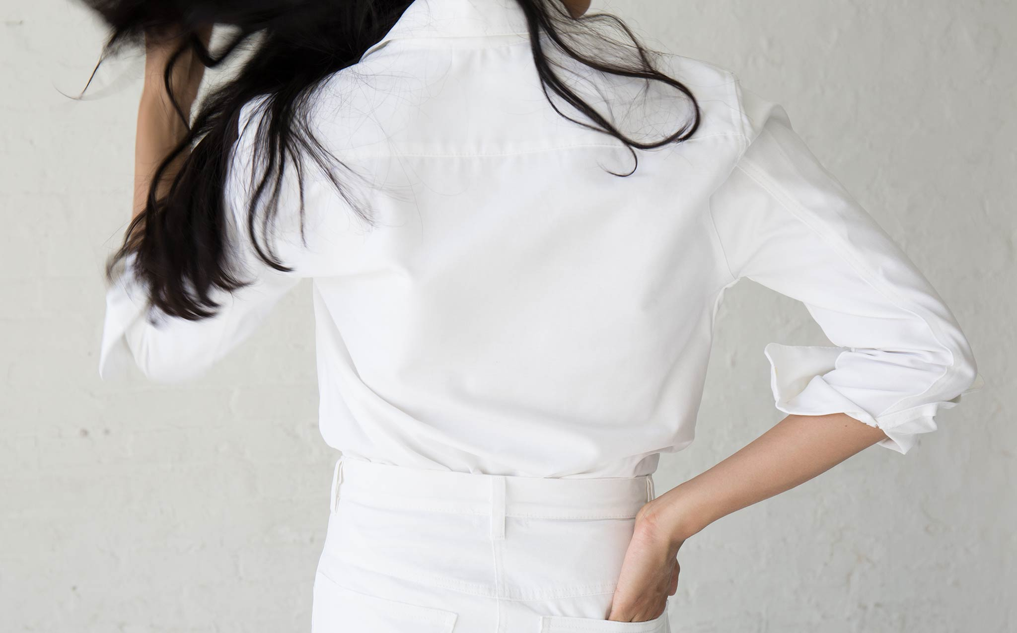 Roberta White Georgia Button Down