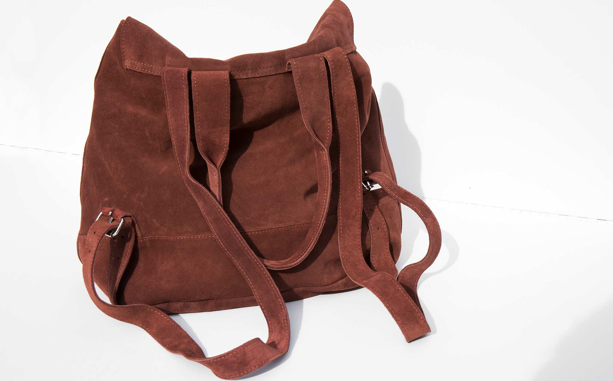Clyde Brick Suede Room Backpack