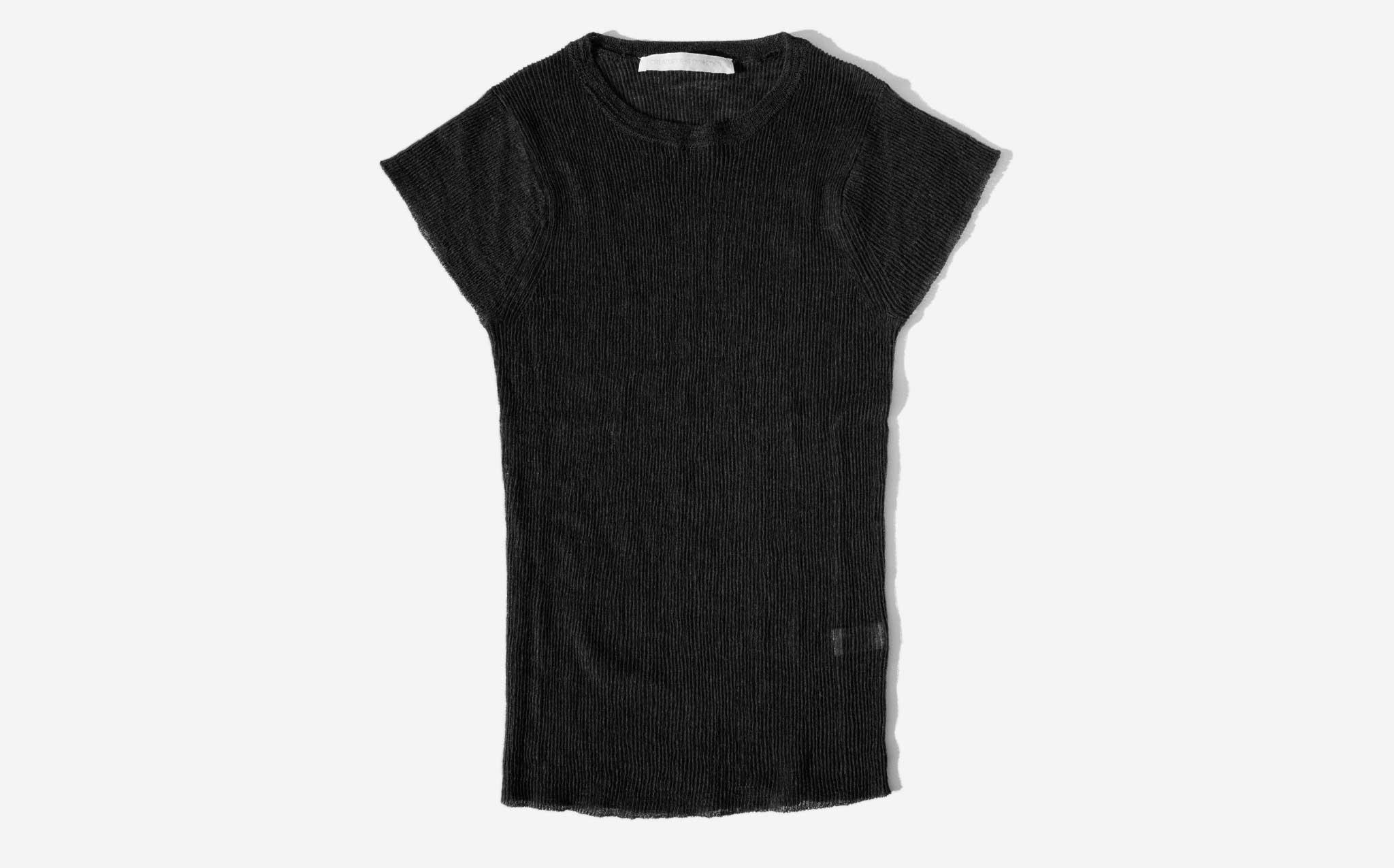 Creatures Of Comfort Black Shrunken Tee