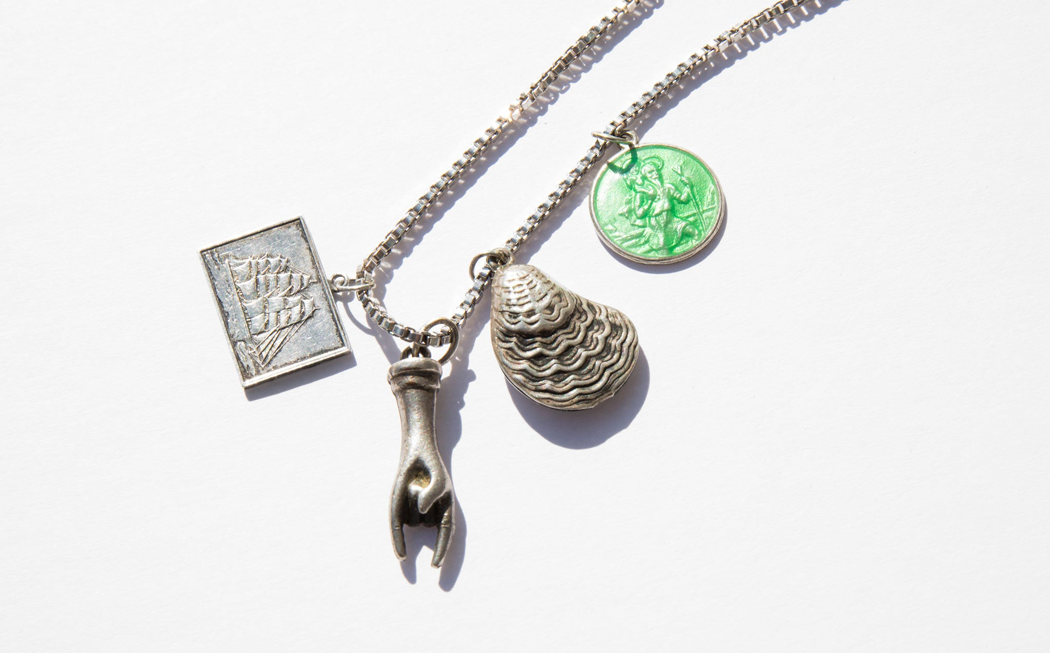 Mariner's Luck Charm Necklace