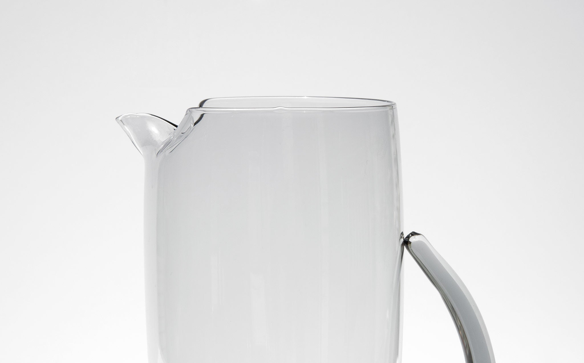 Smoke Glass Pitcher