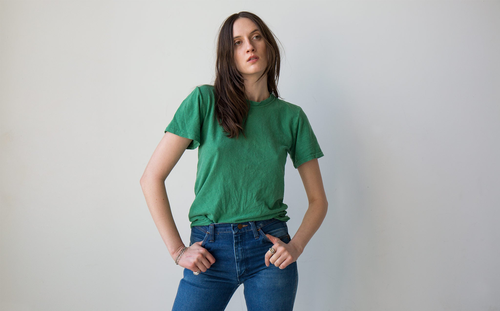 Jungmaven Kelly Green 5 Oz Baja Tee