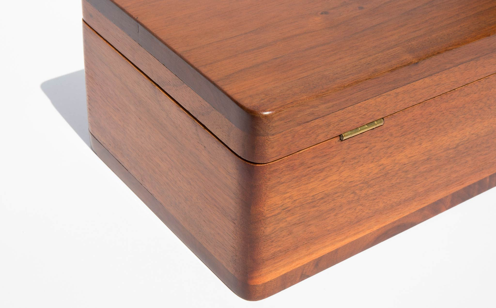 Hand Restored 1940's Walnut Gentleman's Box