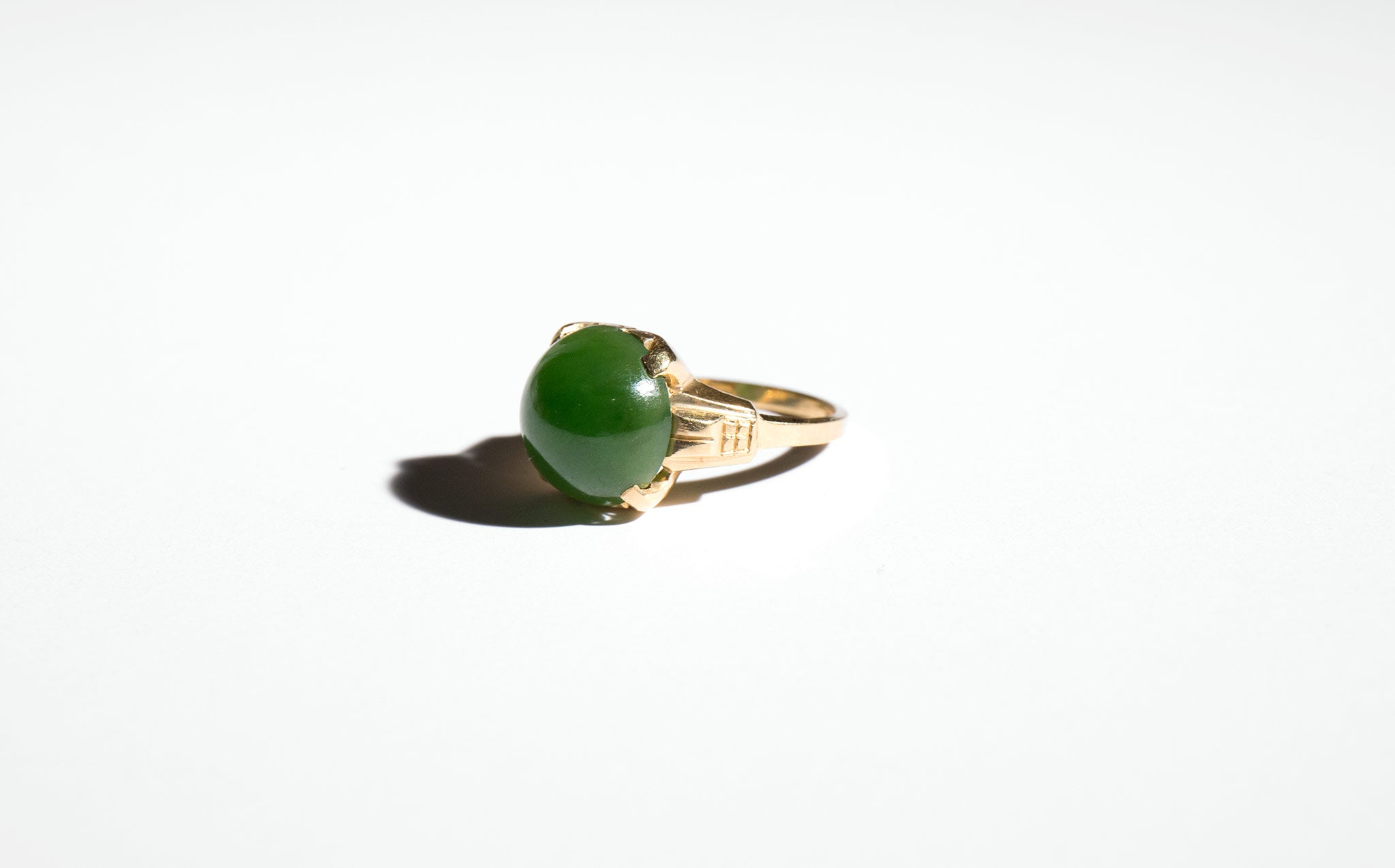 Jade Orb Ring