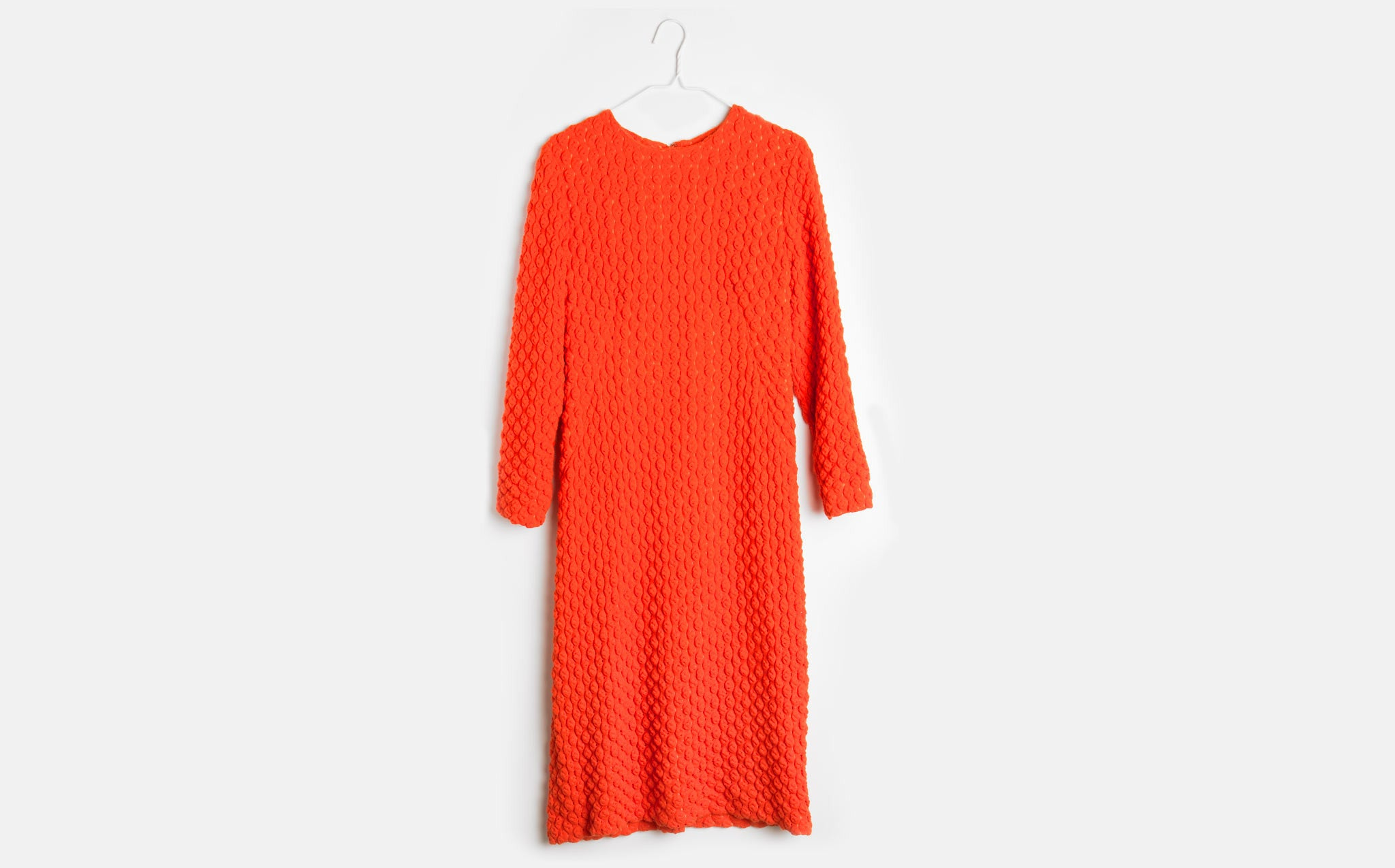 Popcorn Knit Dress kindred black