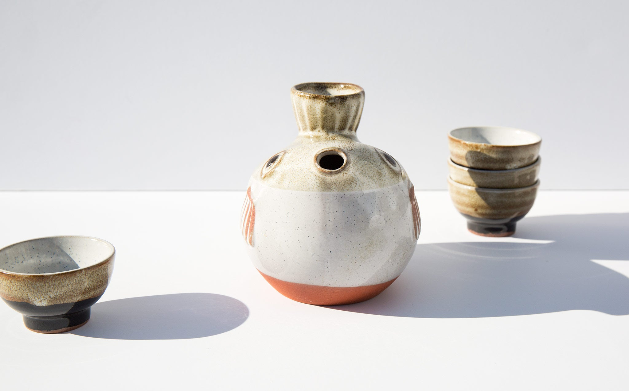 Blowfish Sake Set