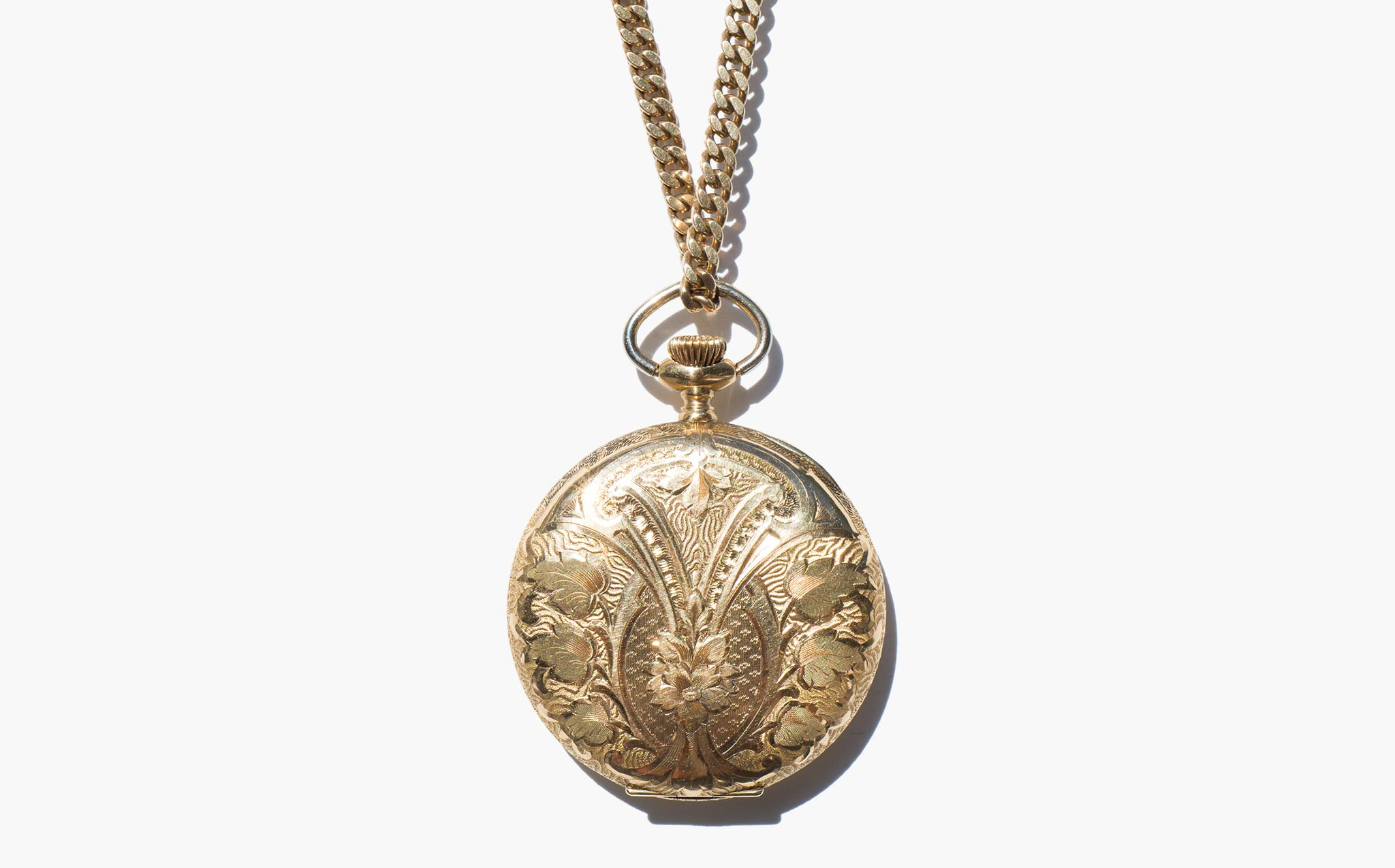 St. Gallagher Watch Pendant