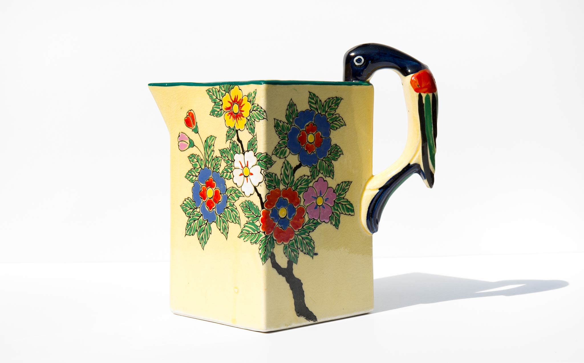 Painted Japanese Pitcher