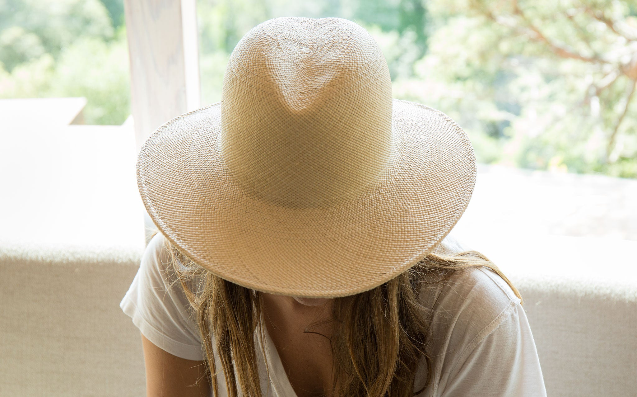 Clyde Panama Straw Dip Hat