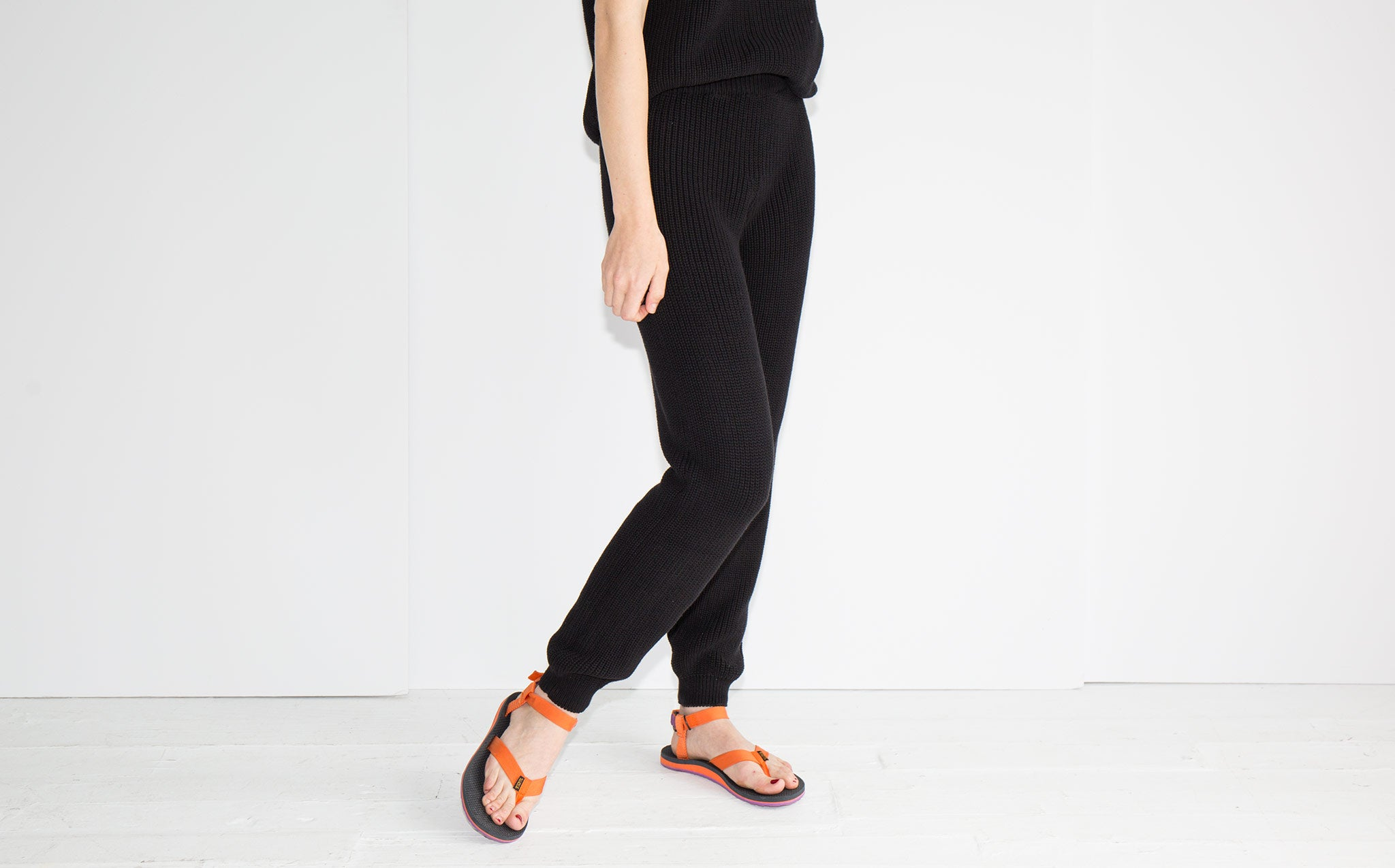 Baserange Black Gerda Pants