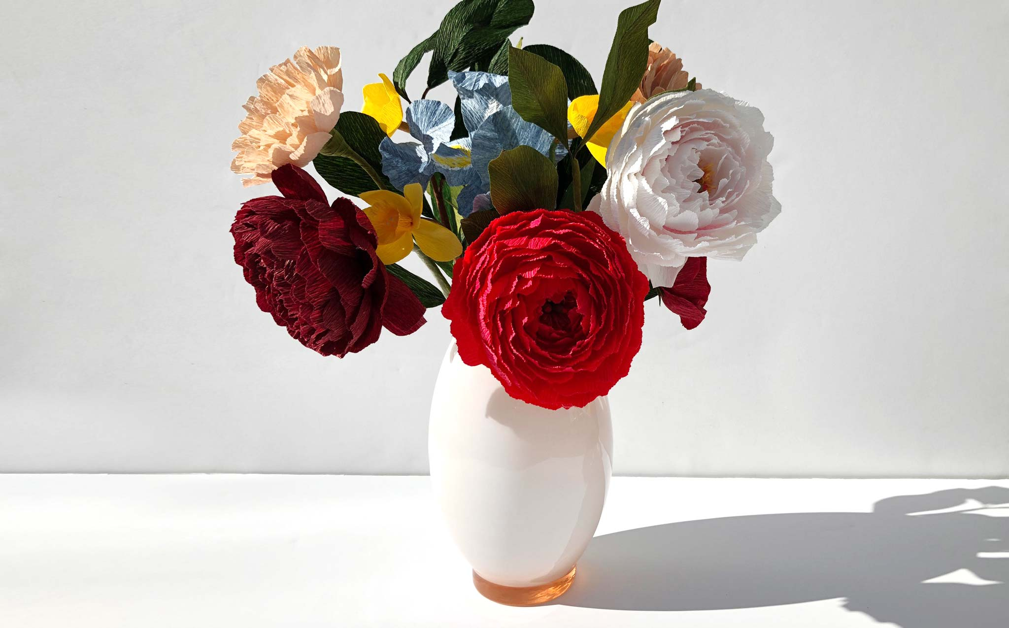 Handmade and Naturally Dyed Floral Arrangement