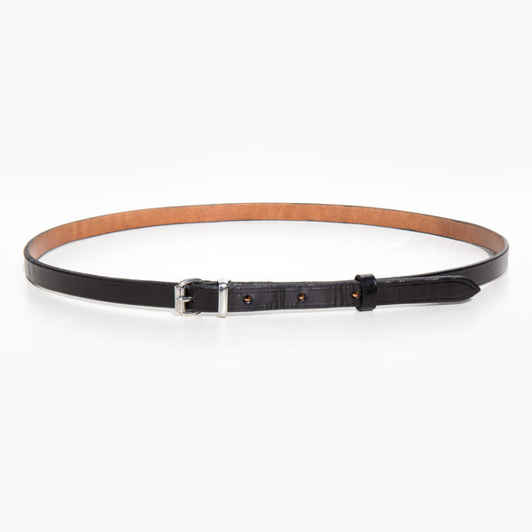 A Détacher Black Amelia Classic Skinny Belt