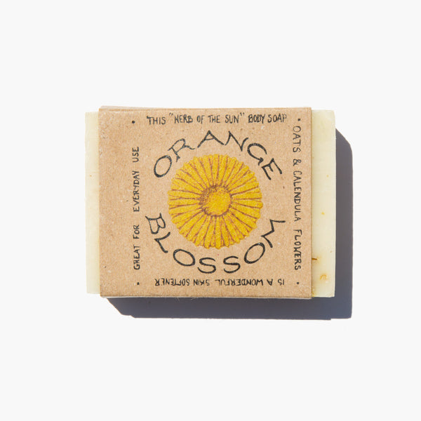 Baja Desert Soaps Orange Blossom Bar