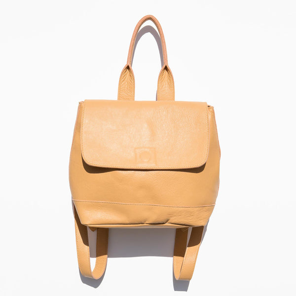 Clyde Apricot Small Room Backpack