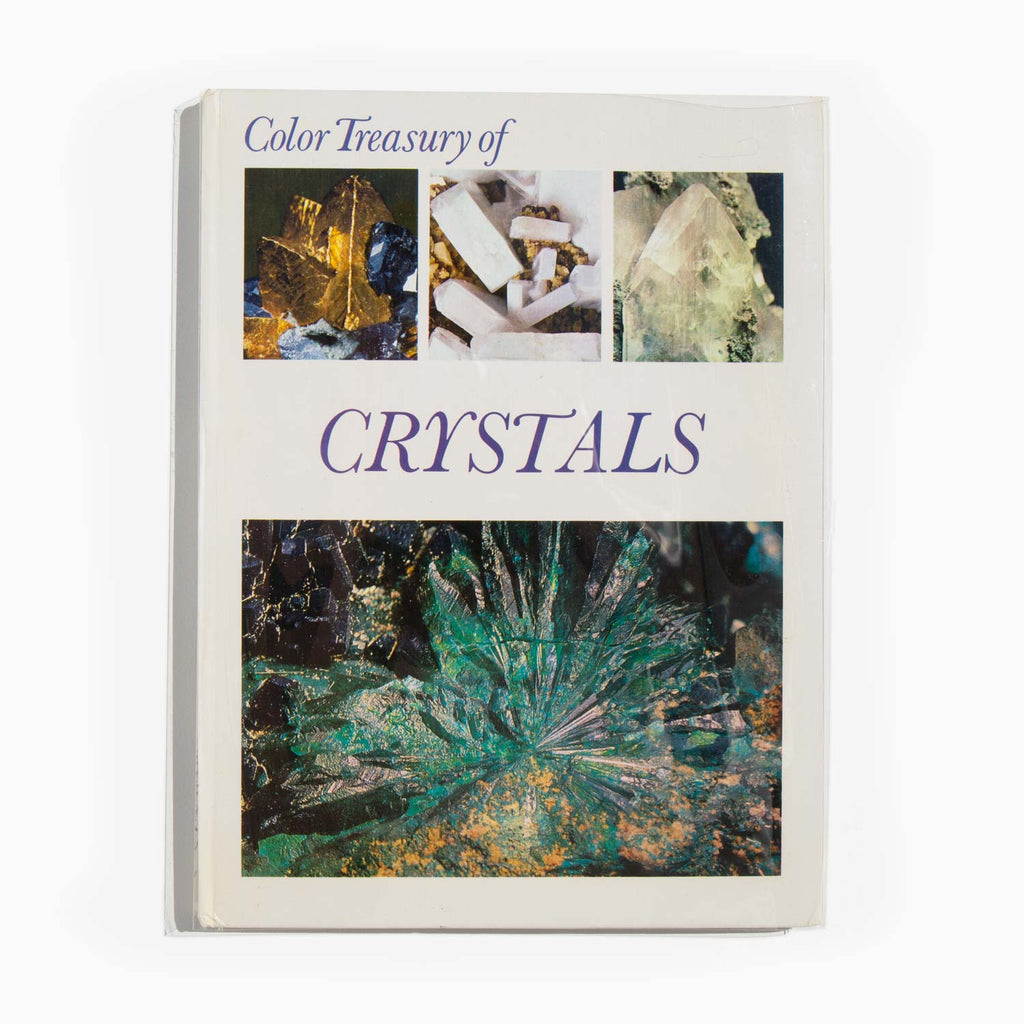 Color Treasury of Crystals - Crescent Books