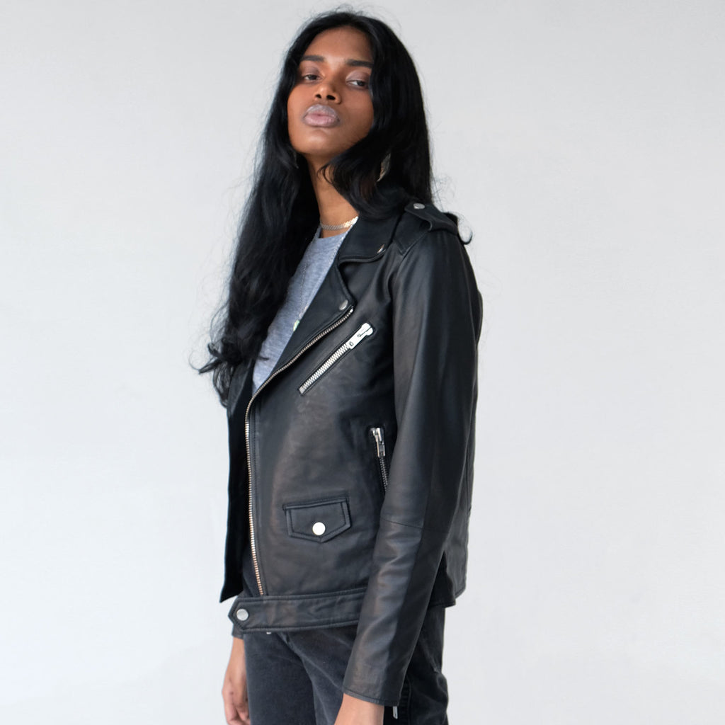 Deadwood River Recycled Leather Jacket