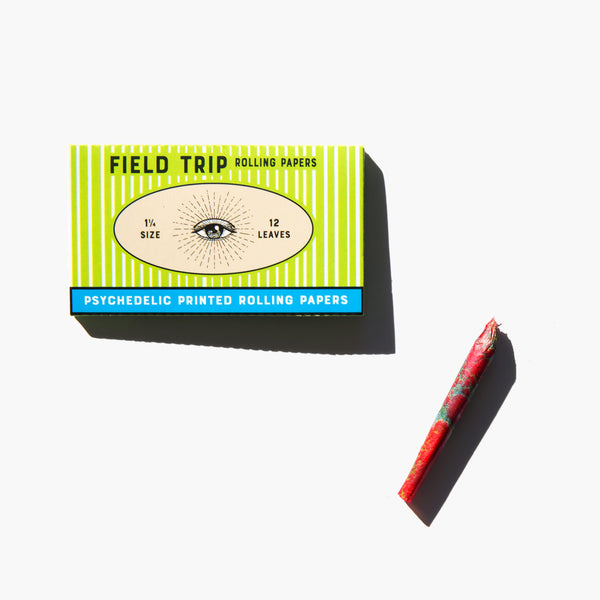 Field Trip Psychedelic Printed Rolling Papers