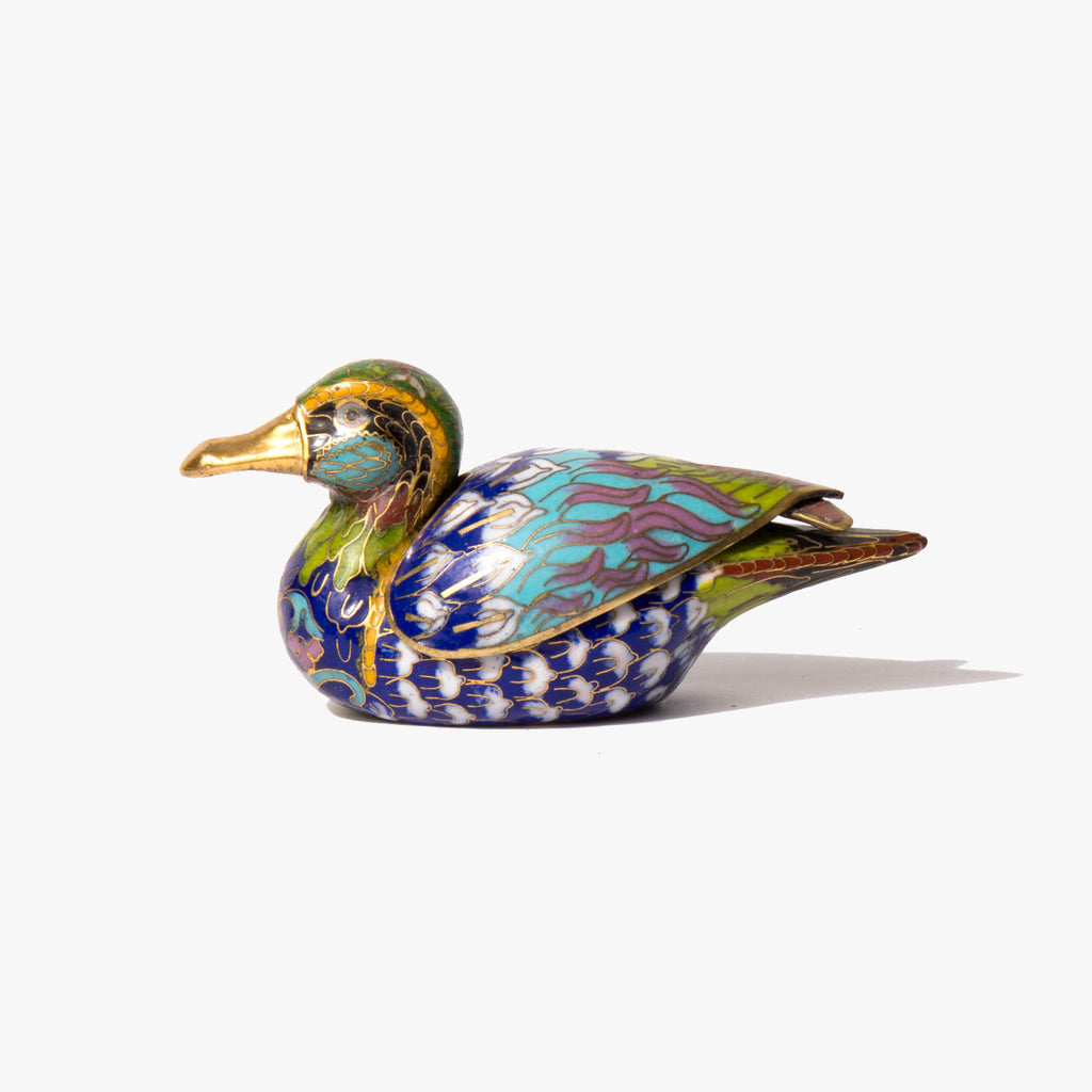 By My Troth Cloisonné Duck
