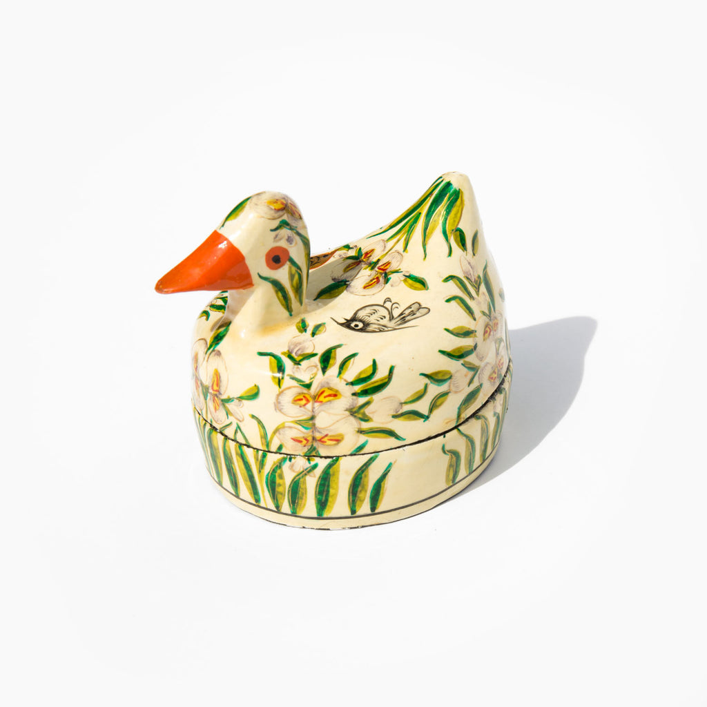 Hand Painted Mama Duck