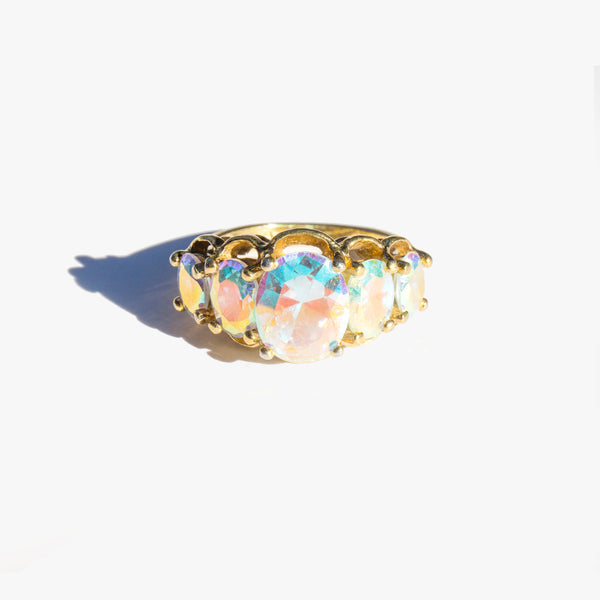 Iridescent Cocktail Ring