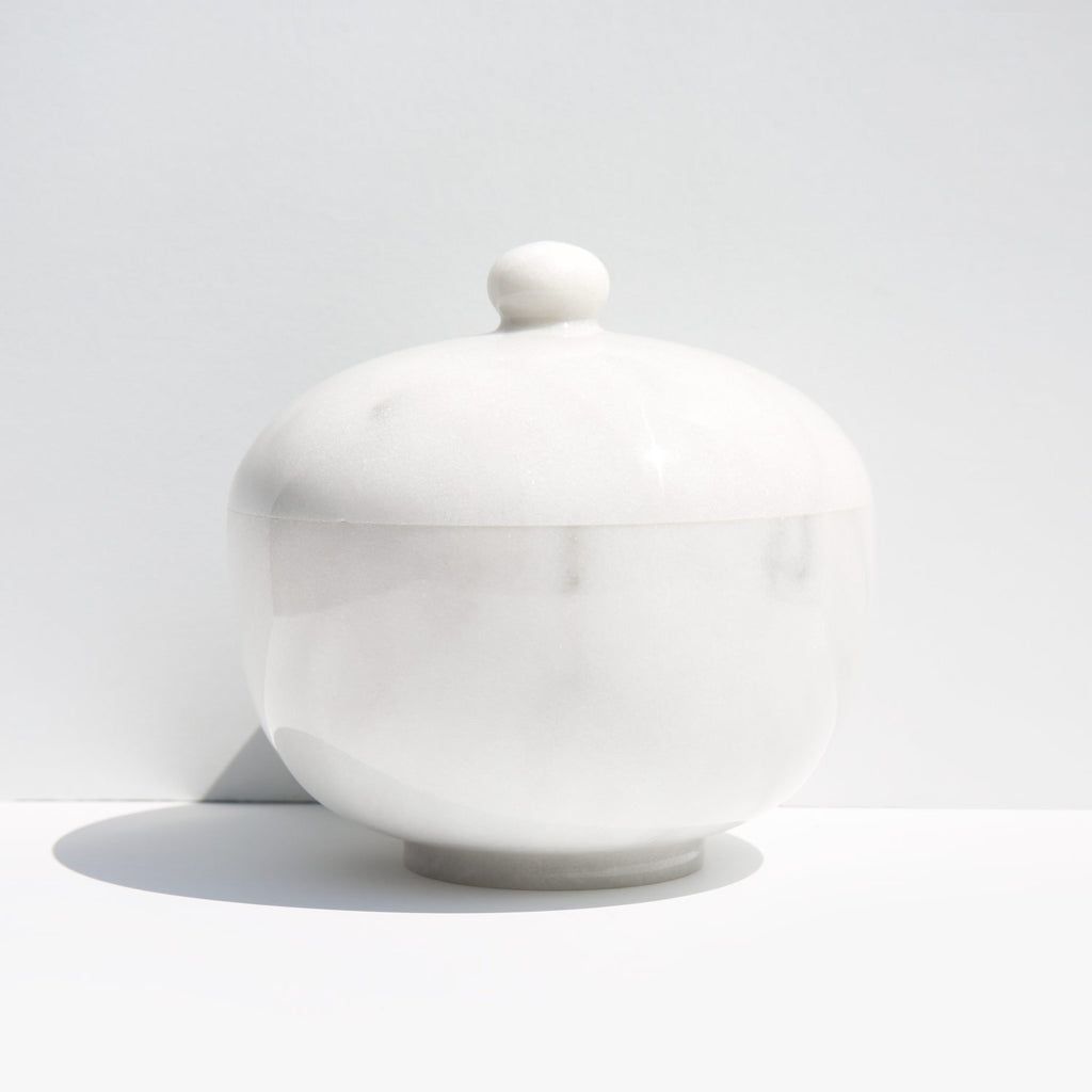 Marble Covered Dish