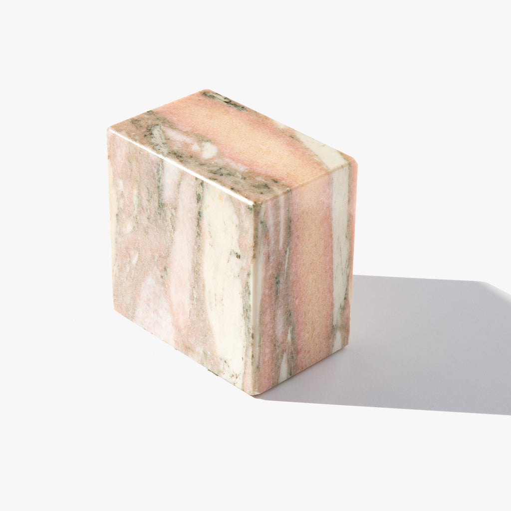 Pink Marble Block