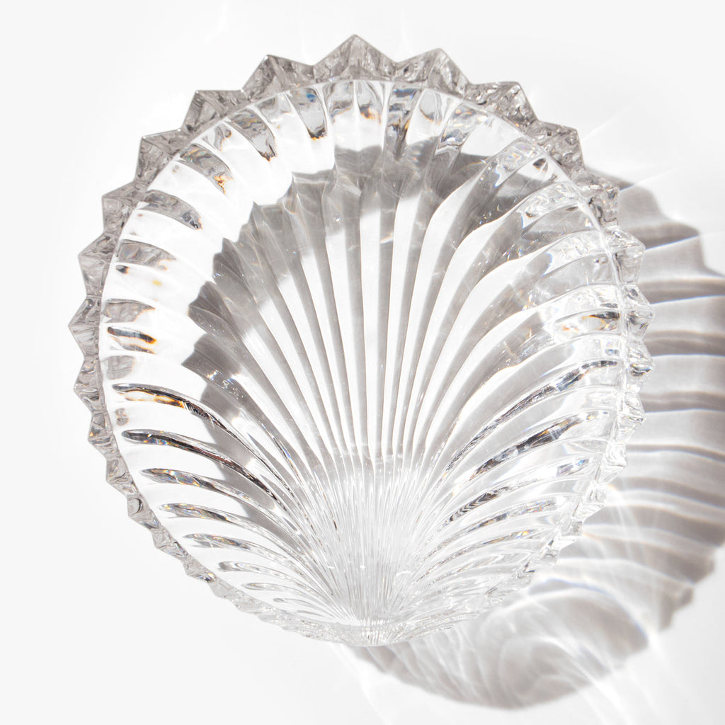 Crystal Clamshell Bowl