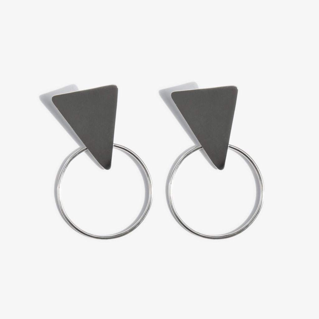 Sterling Shapes Earrings